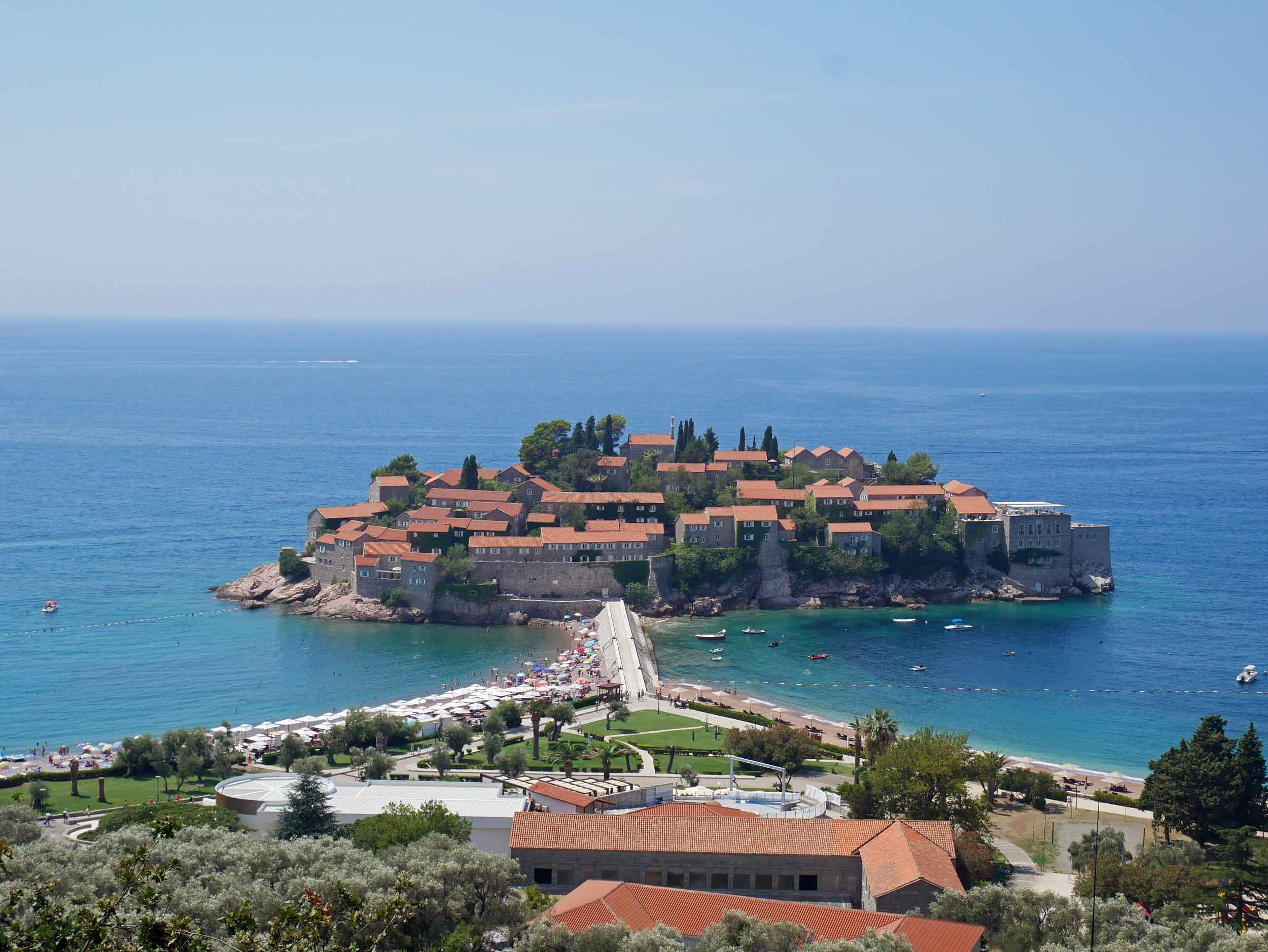 Just south of famed coastal playground Budva lies the dreamy islet of Sveti Stefan, which is now home to an exclusive 5-star resort.