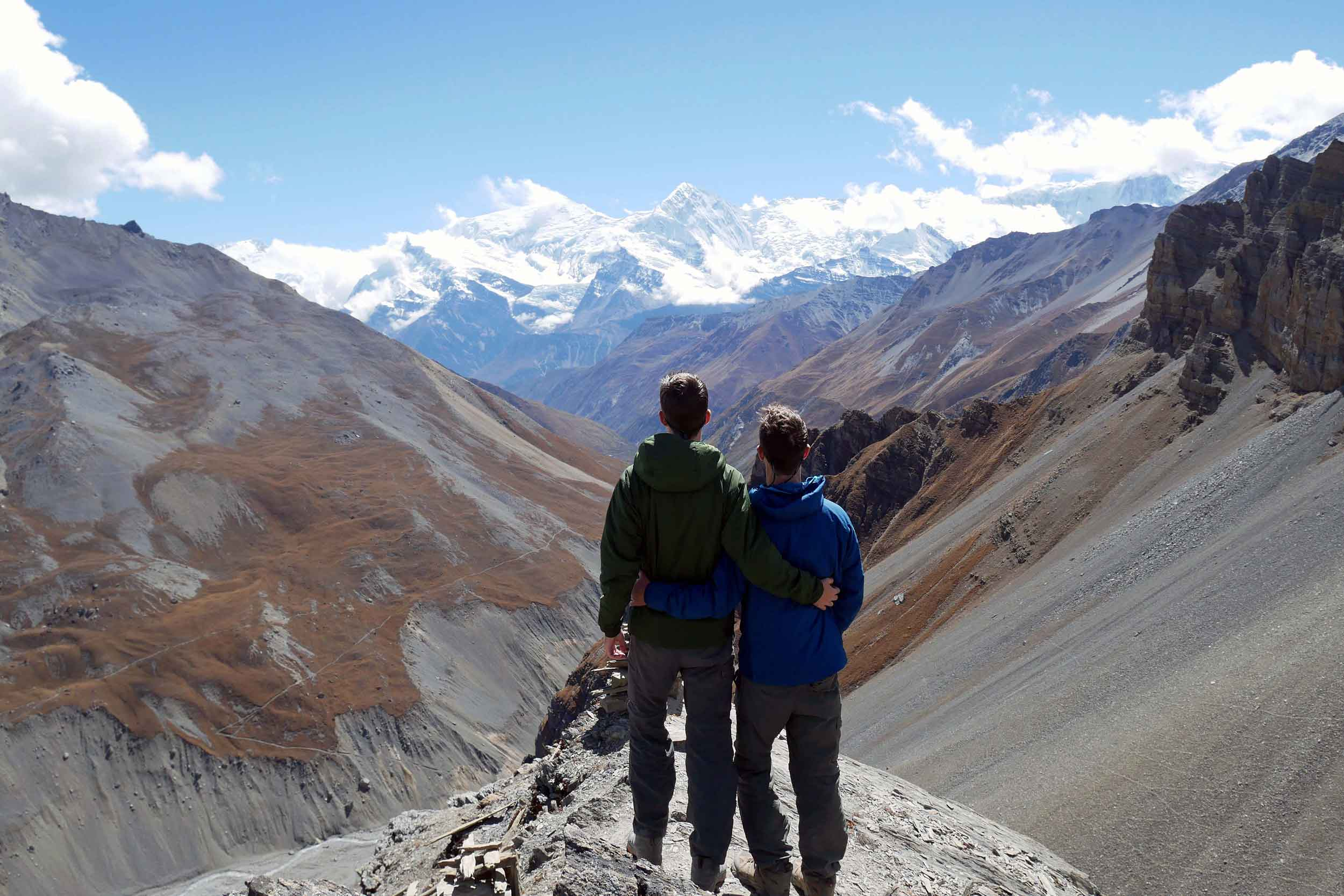 After six days of trekking Nepal's Annapurna Circuit, we took a moment to reflect on where we'd come from and what we'd learned before we set out early the next morning to cross the world's highest mountain pass.