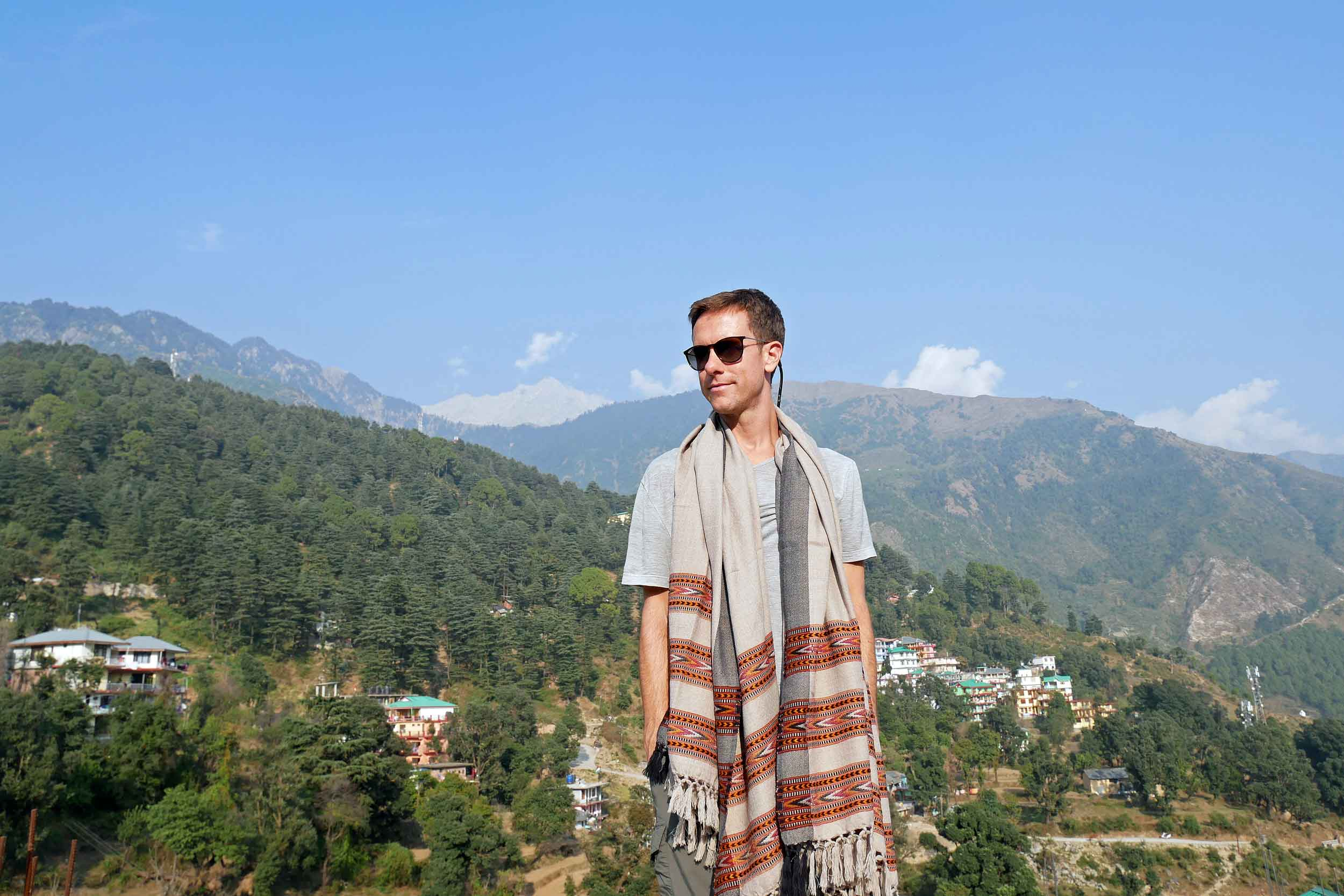 Martin reflects on the teachings of His Holiness the XIV Dalai Lama; McLeod Ganj.