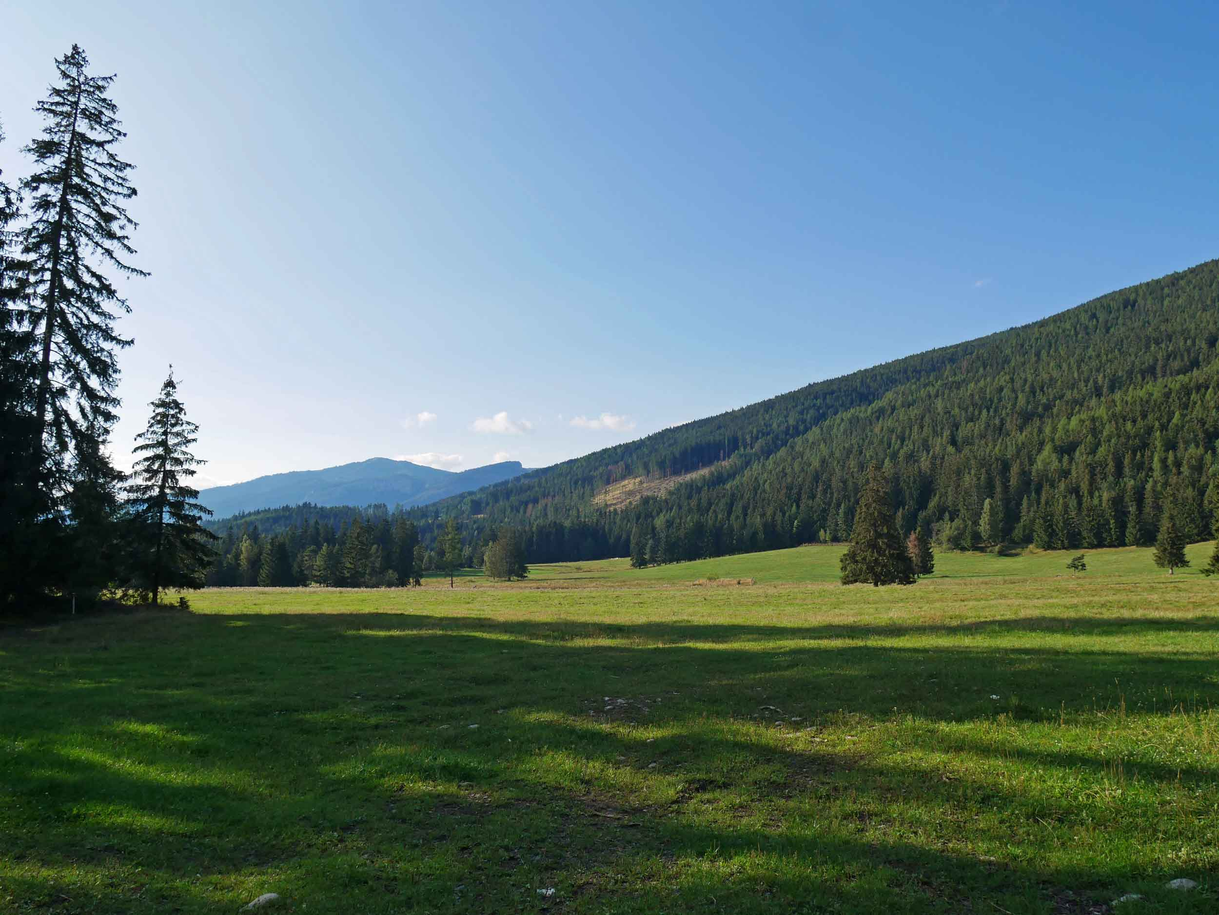 Driving along the country roads in the Western Tatras, we stopped to enjoy the gorgeous verdant valleys.