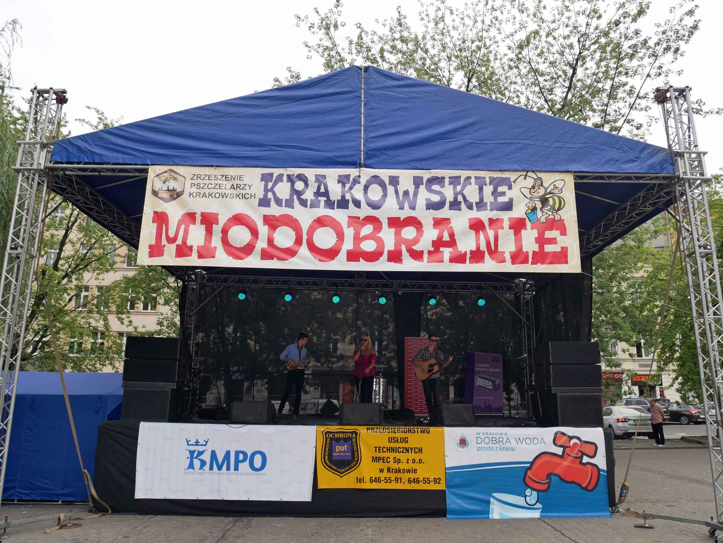 We happened upon a market festival celebrating Krakow Honey Harvest & Bee-Keepers, which felt like kizmut as Martin had just finished reading  The History of Bees  by Maja Lunde.