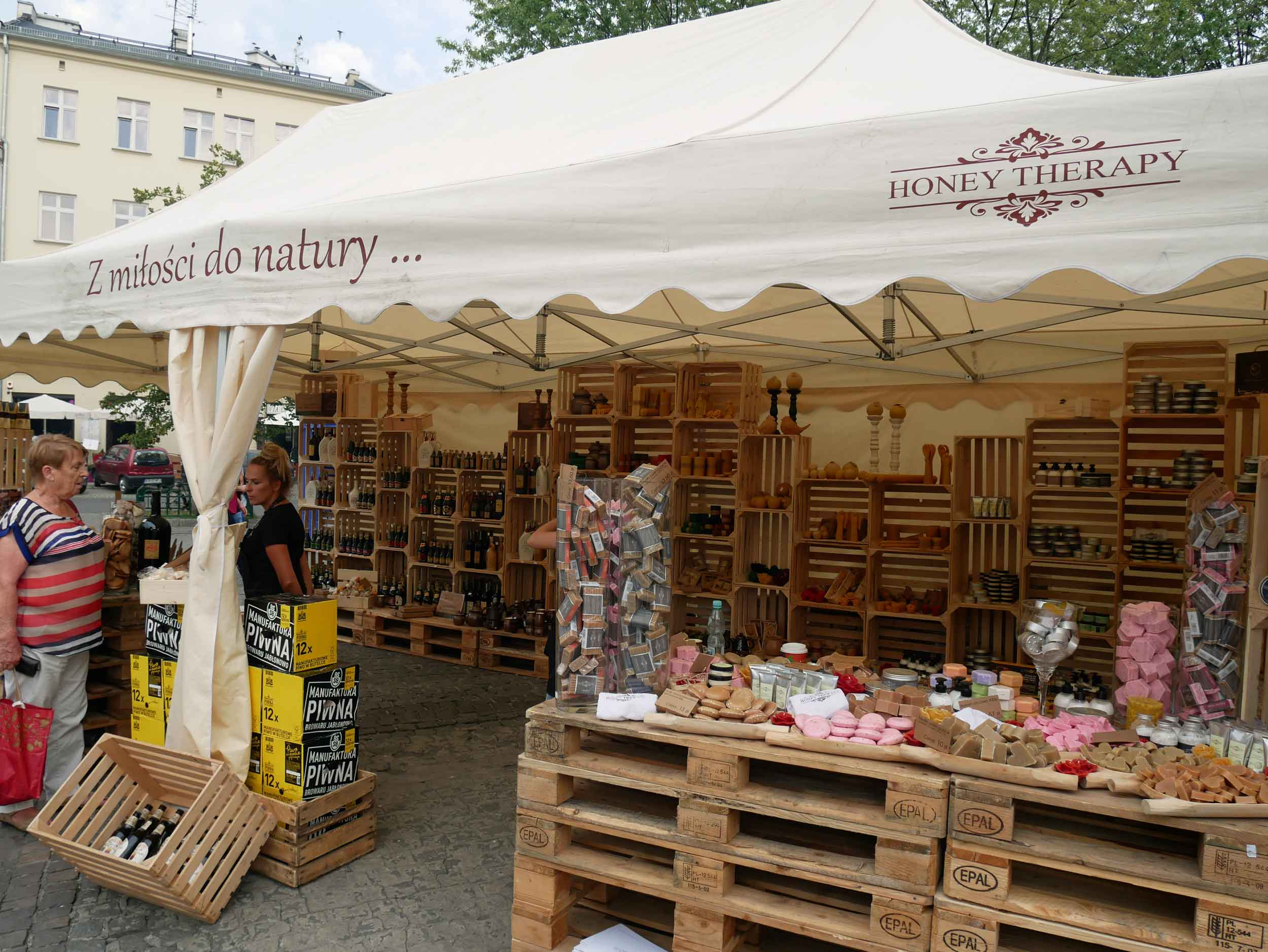 Dubbed the sweetest festival in Krakow, you can find all sorts of bee-related goods for everyone!