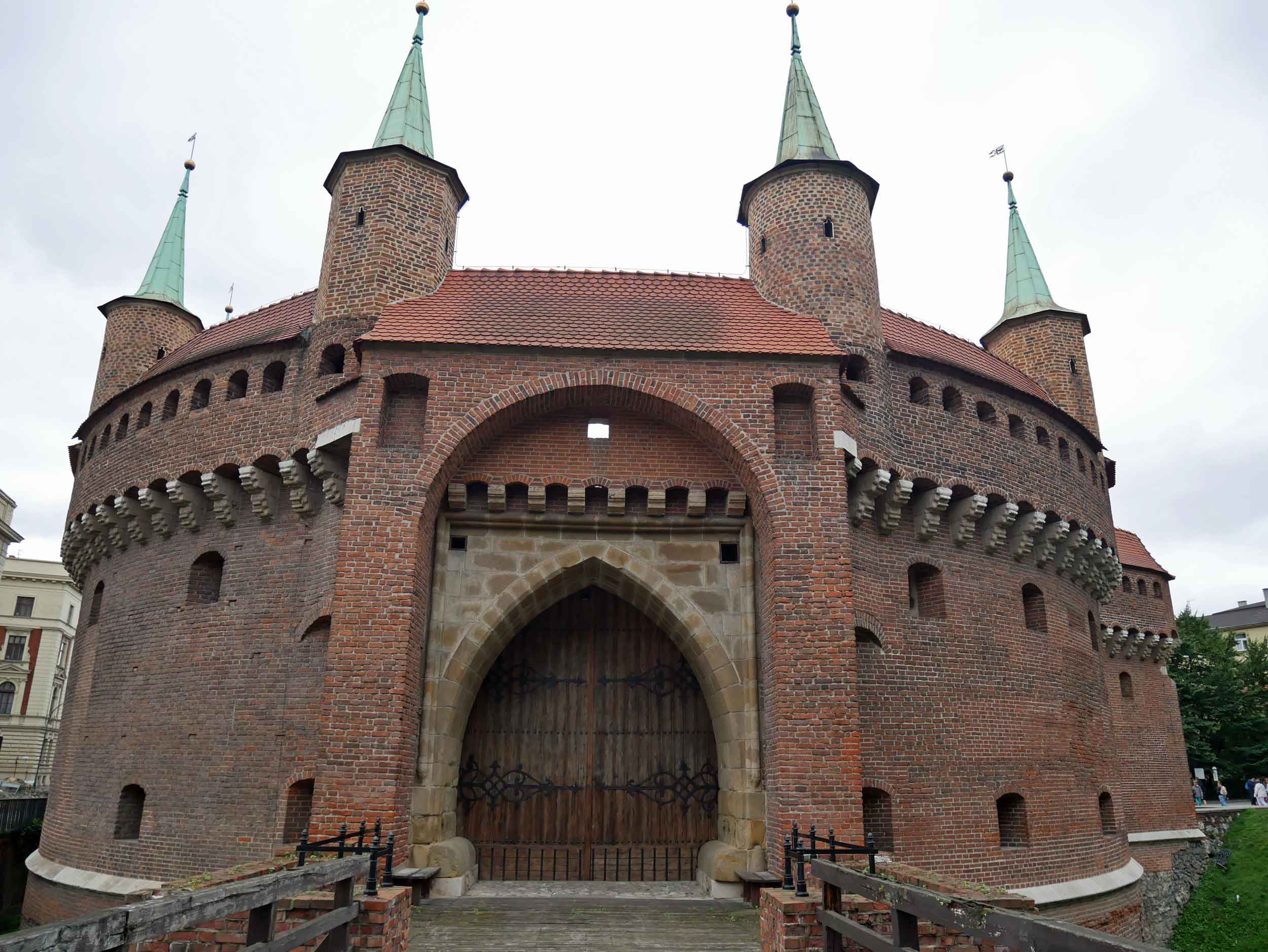 The Krakow Barbican is one of the few remaining relics of the complex network of fortifications and defensive barriers that once encircled the royal city.