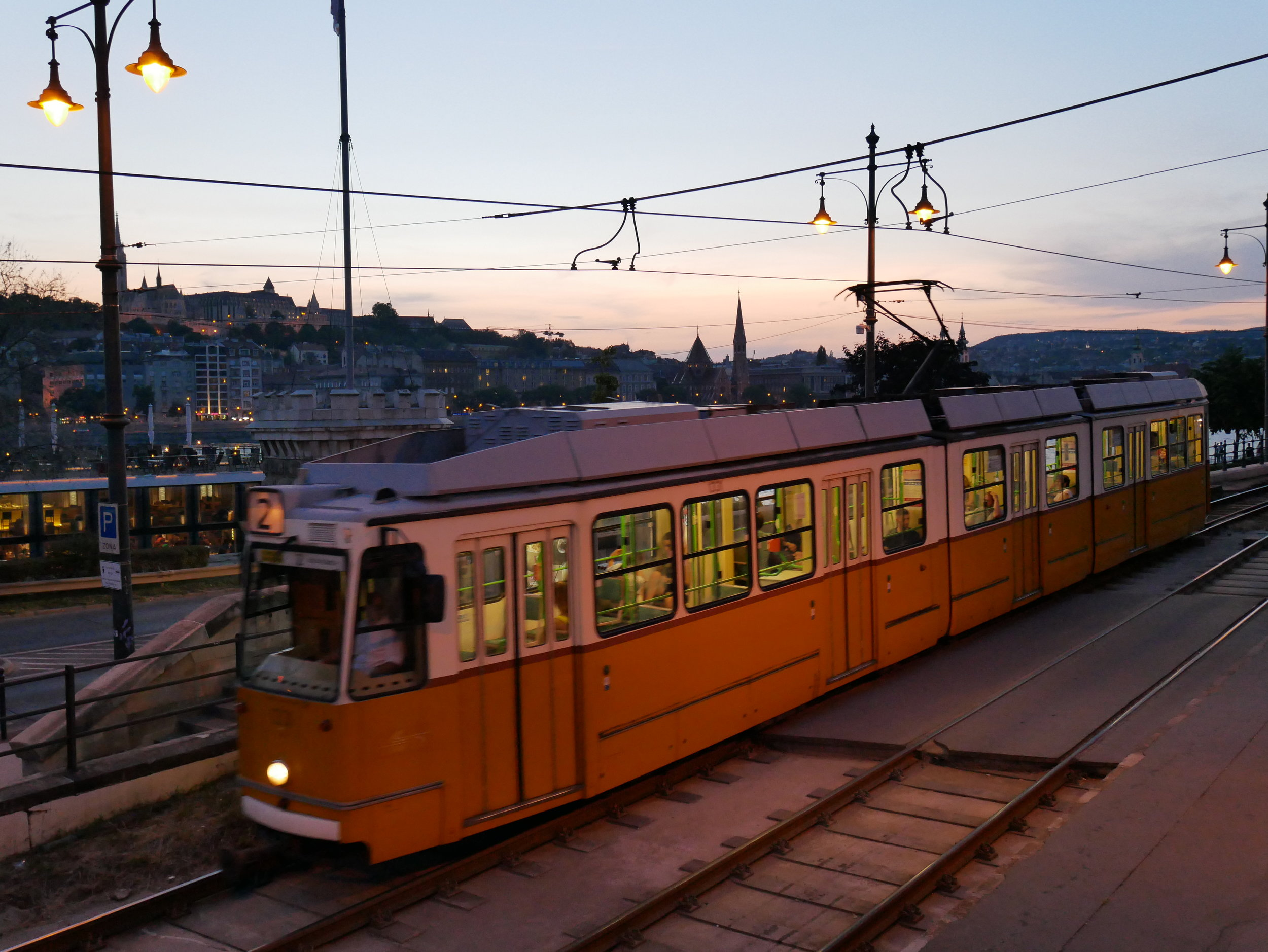 Not only are Budapest's trams adorable, they are super easy to use for seeing the city's many sights!