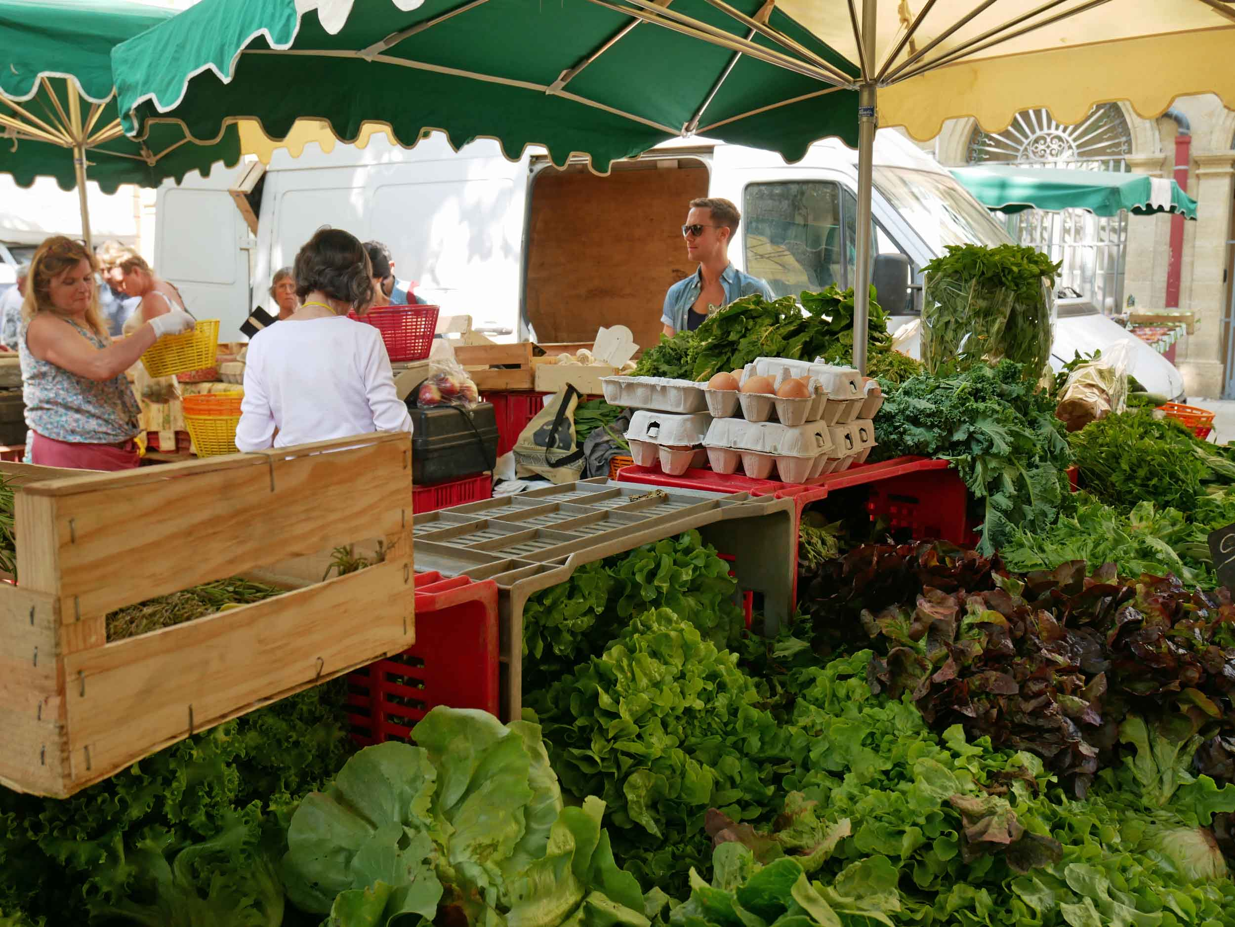 The main market, located at Place Richelme is now a daily market, while there are a few additional ones at Place de la Madeleine and Place de Precheurs,open on Tuesday, Thursday and Saturday – because everyday should be market day!