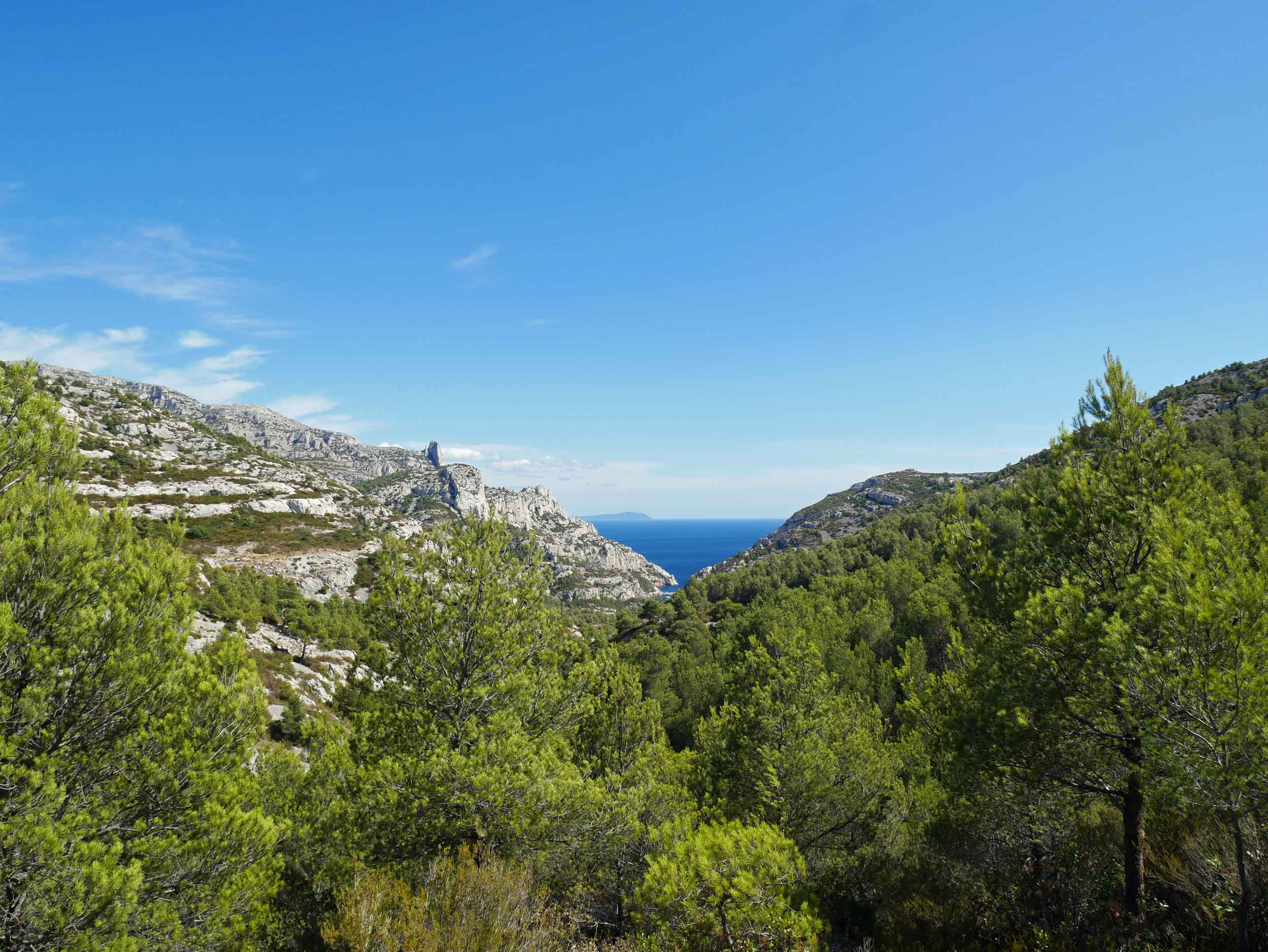The Calanques National Park, established in 2012, is one of the newest parklands in France (Sept 10).
