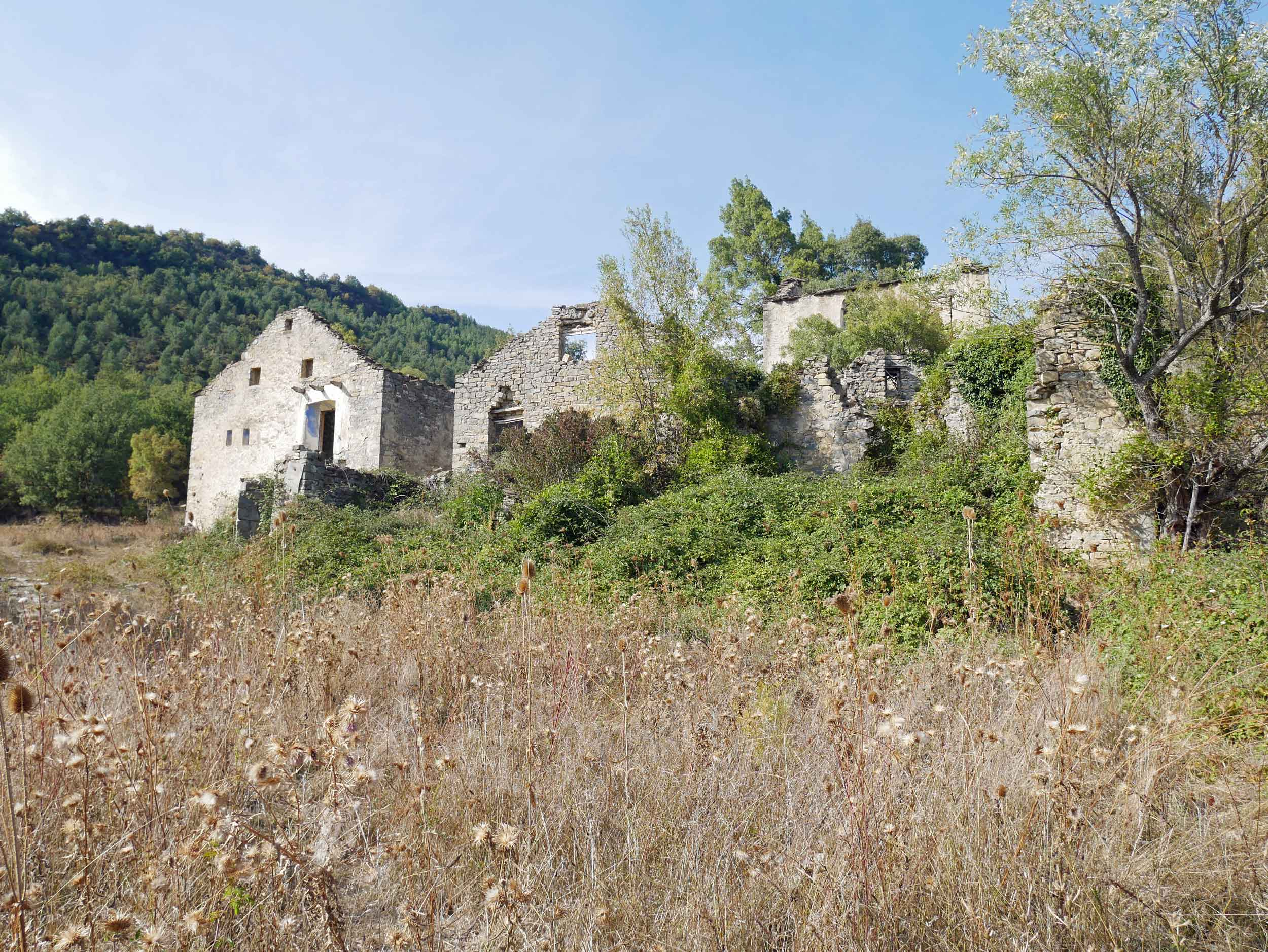 Throughout Spain's Solana Valley there are many 'ghost villages,'abandoned in the 1960s and 1970s due to governmental land usage, changes in agricultural practices, and General Franco's push to move the country's youth into its cities (Sept 21).