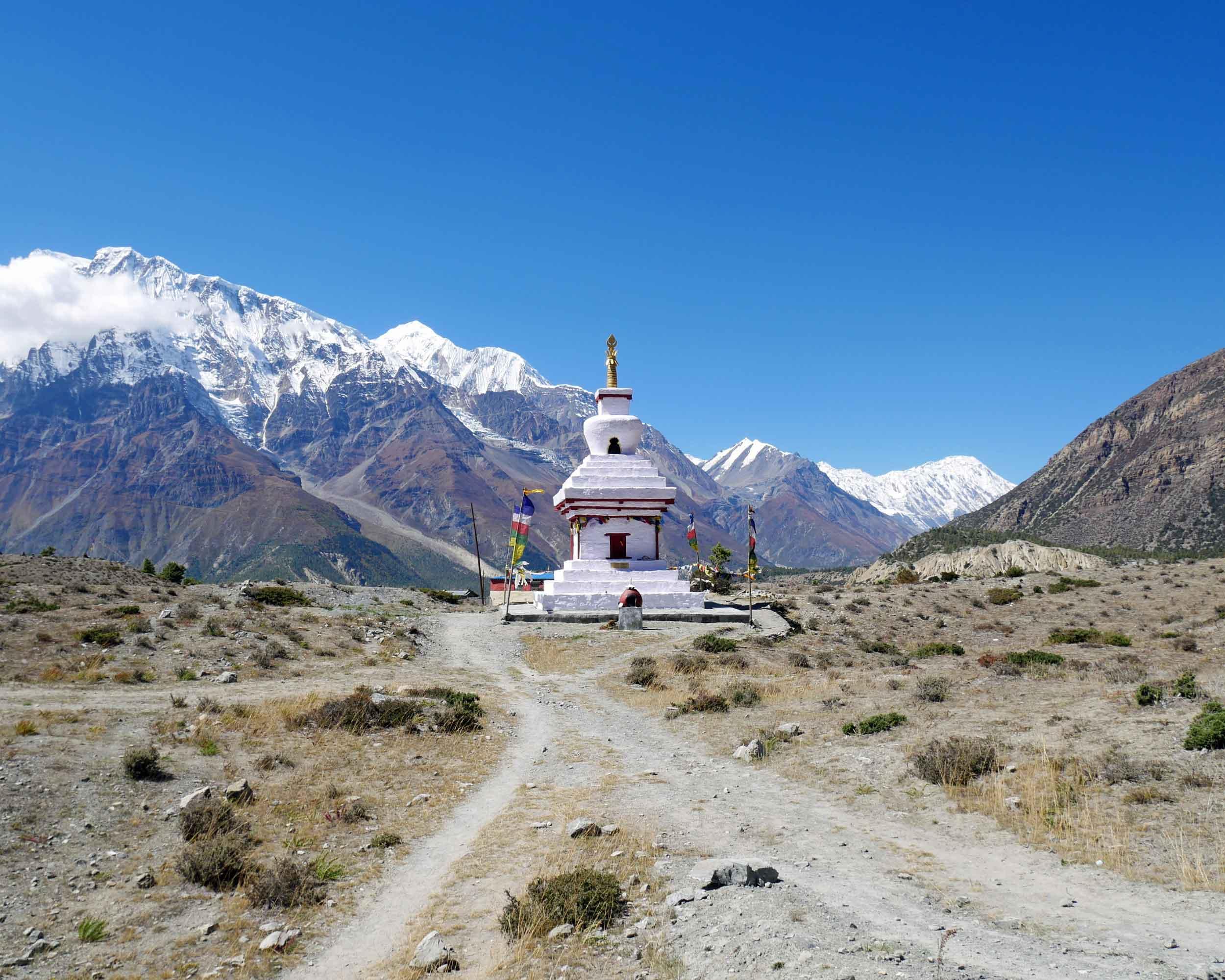 Annapurna Circuit, Himalayas, Nepal; October 2017.