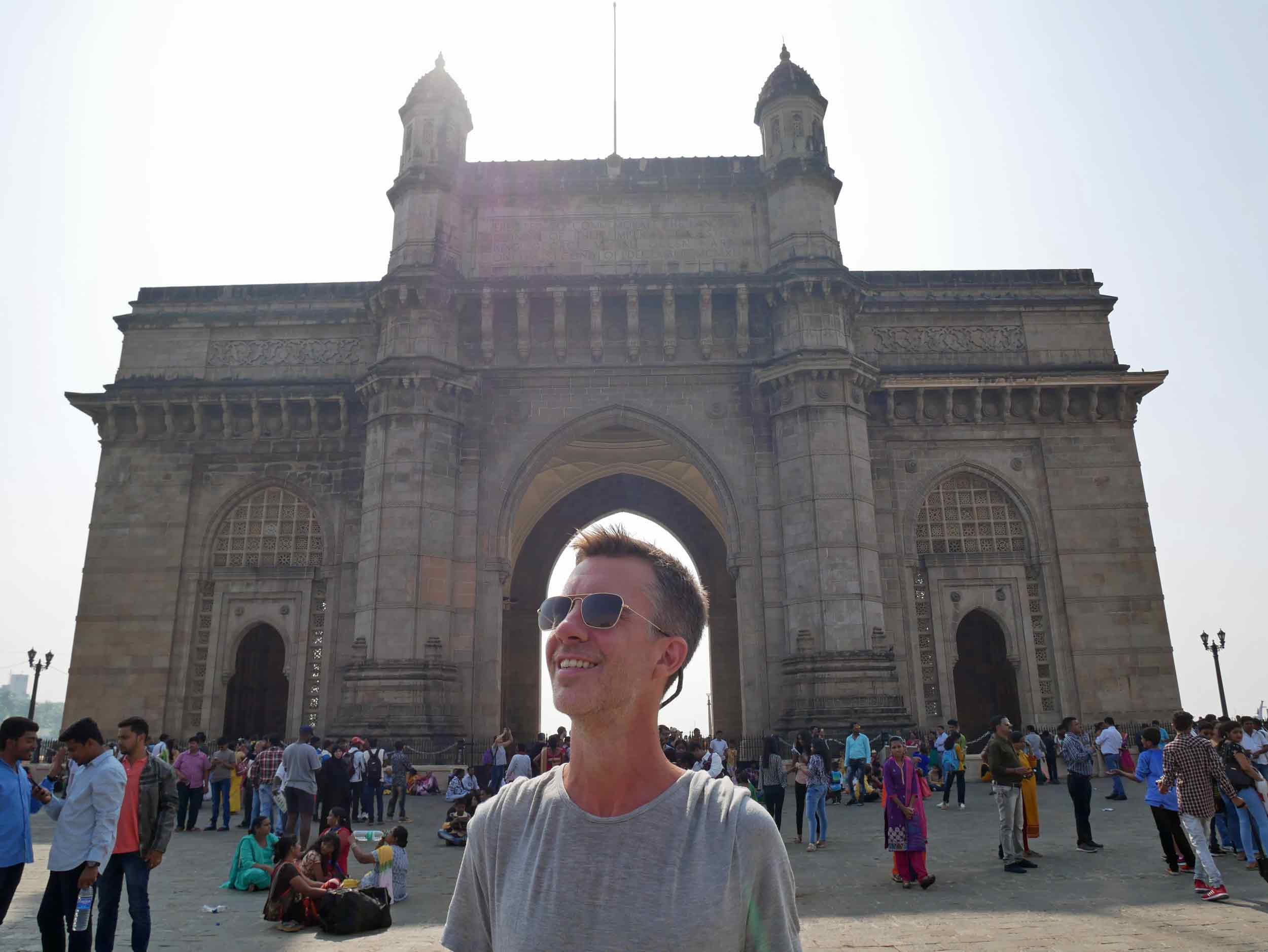 Magnificent India Gate, where many Indian tourists requested to get selfies with us, giving us a glimpse of famous life.