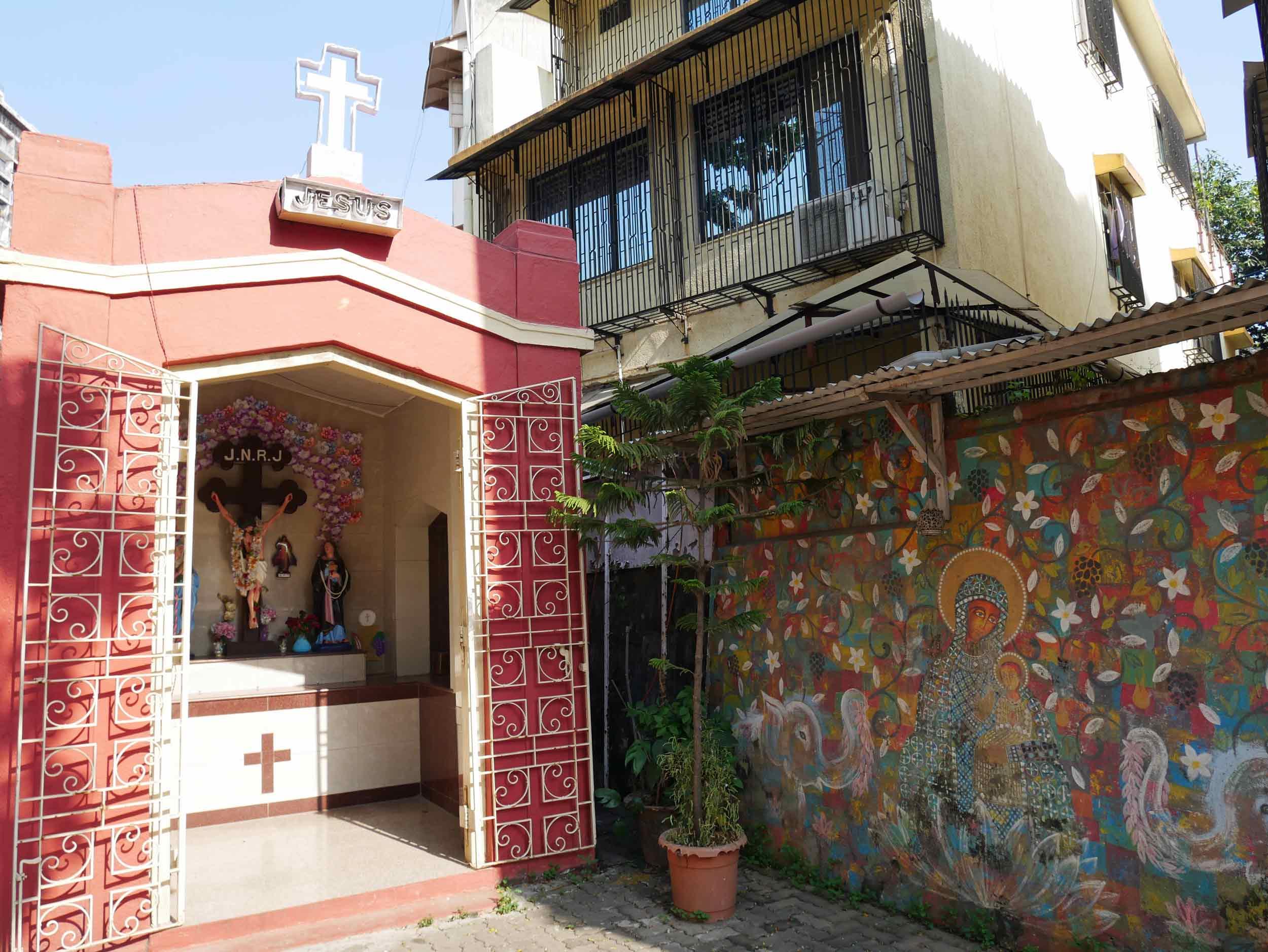 With its Latin heritage, Catholic alters adorn this vibrant neighborhood.