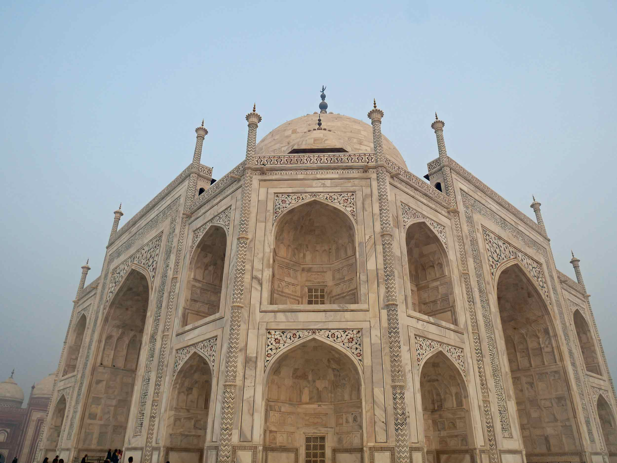 """The Taj Mahal was designated a UNESCO World Heritage Site in 1983 for being """"the jewel of Muslim art in India and one of the universally admired masterpieces of the world's heritage""""."""