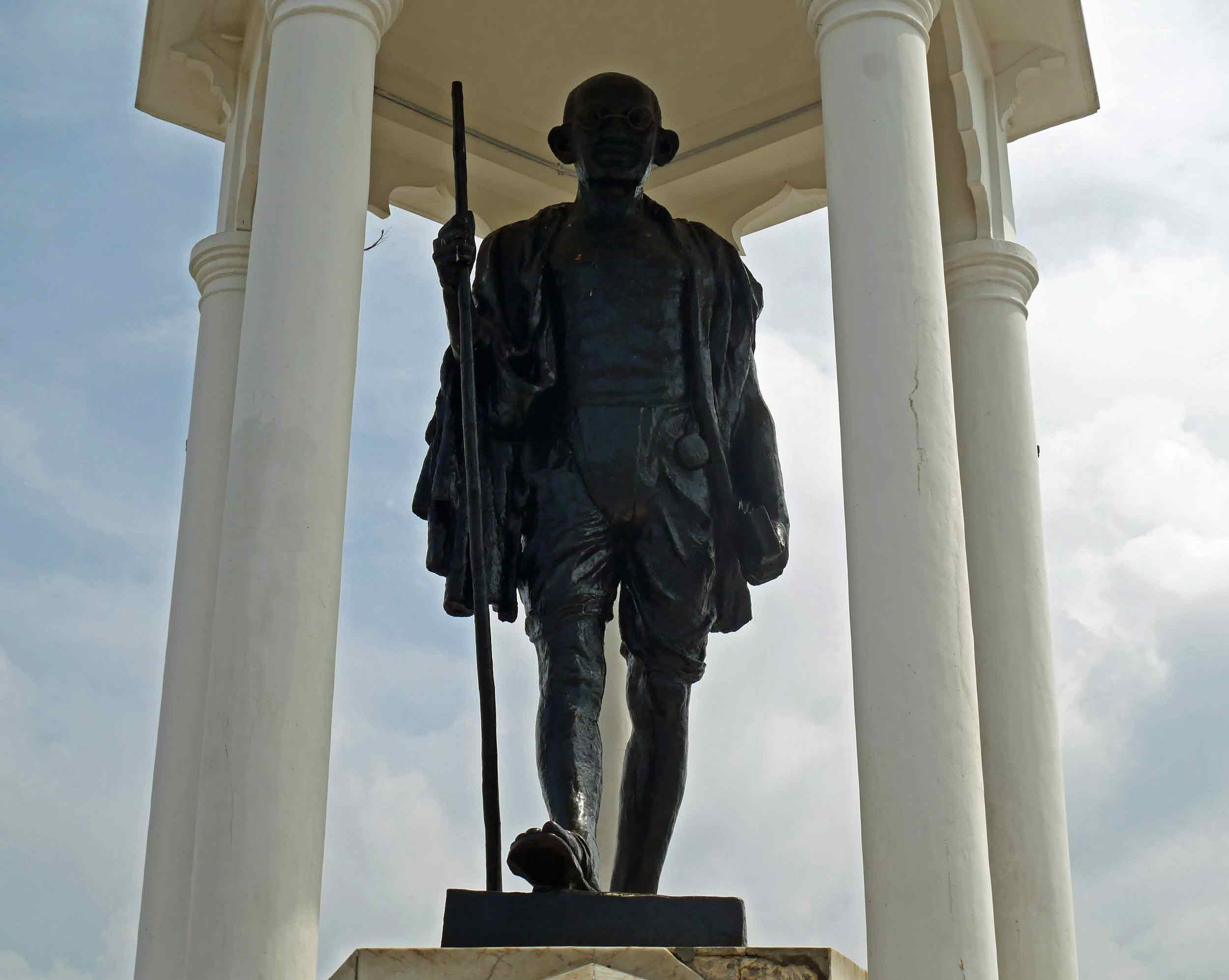 The biggest Mahatma Gandhi statue in Asia is found in Pondicherry, the seaside former French colony (Nov 27).