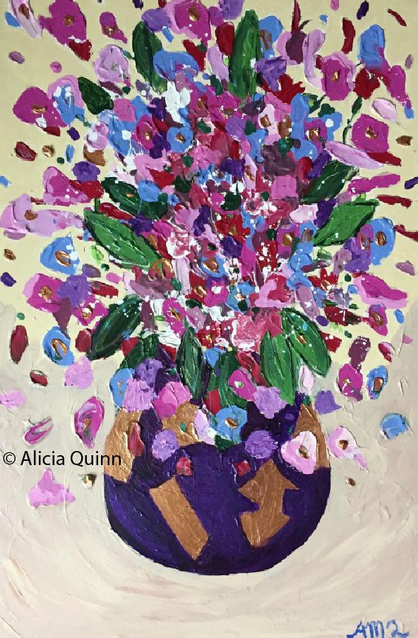 For Sale. Vase of Love. 20x30in