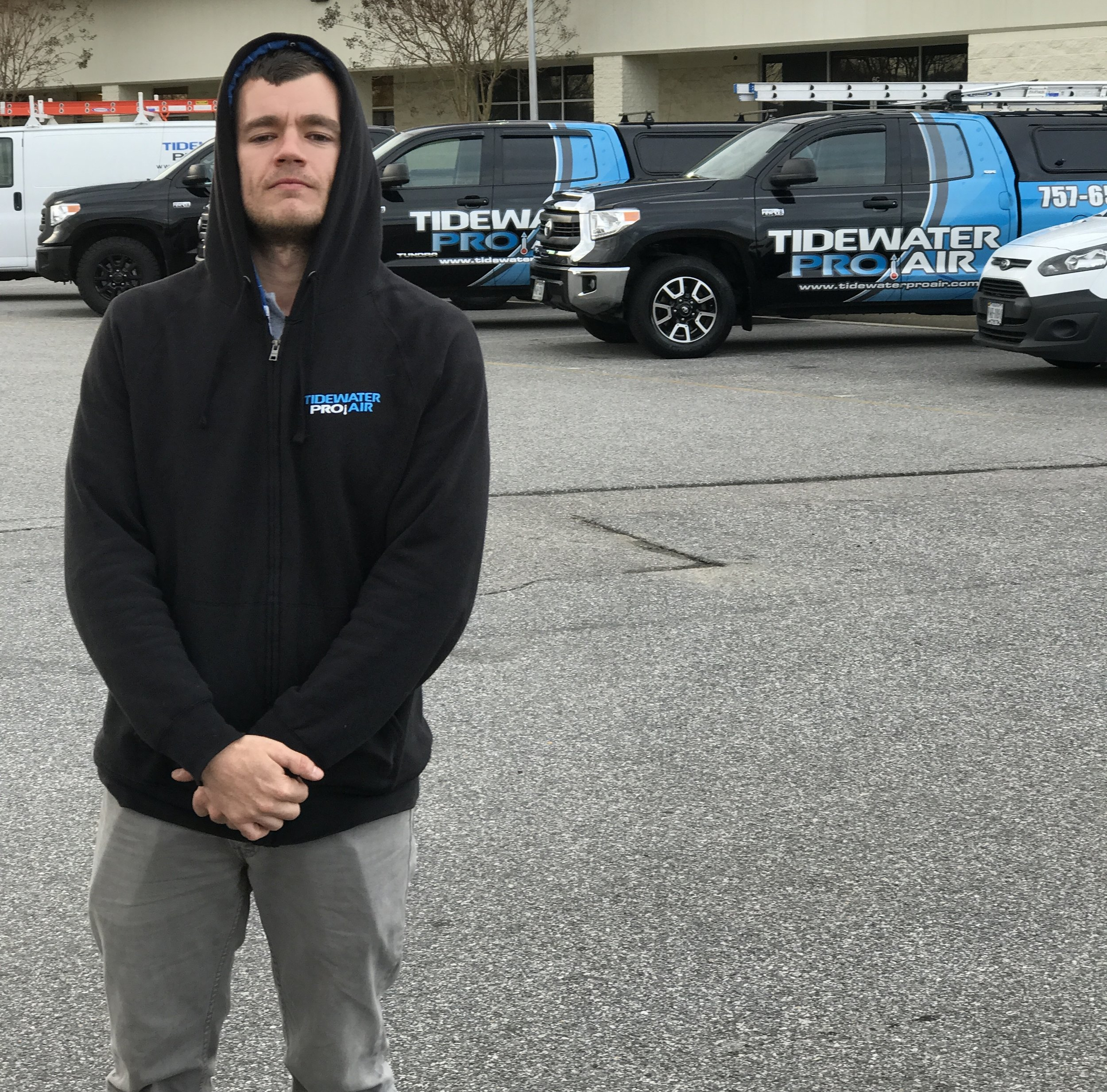 Brandon Nero with Tidewater Pro Air
