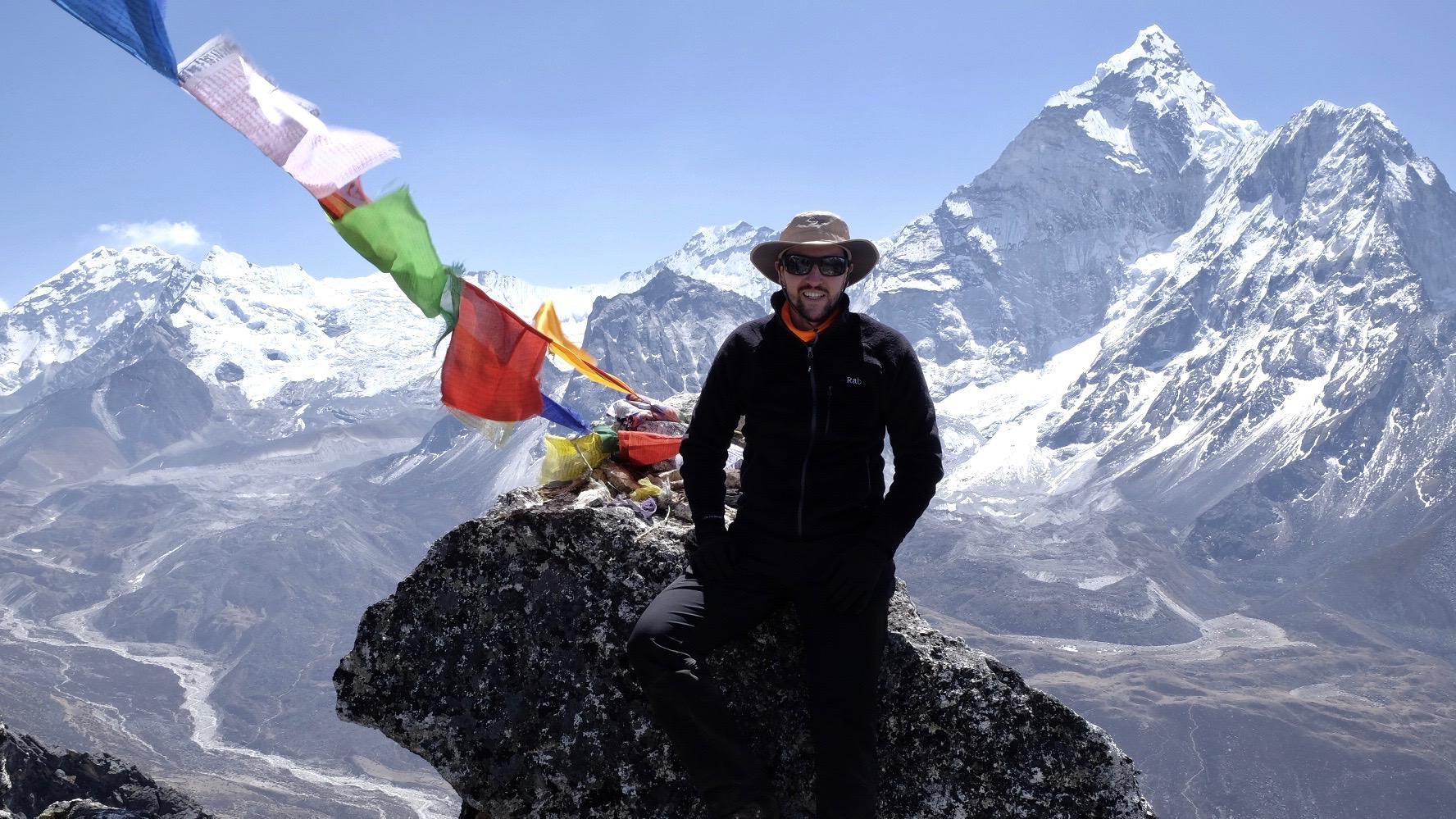 Nangkartshang Peak, 5083m, Khumbu, Nepal.