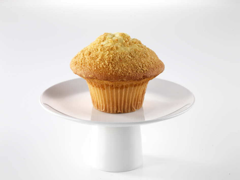 Giant Apple Crumble Muffin   Ina's Apple Crumble muffins are just heavenly, they have a moist cake-like texture with a heartwarming buttery crumble topping and they taste just like apple pie.  150g each. 12 per batch.   Item Number: 5002