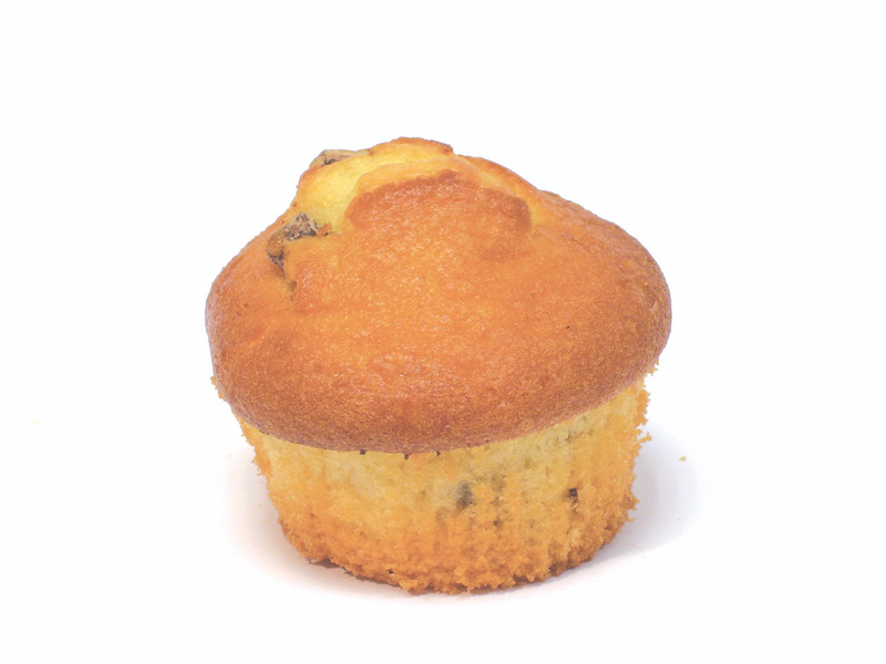 """Giant Chocolate Chip Muffin   The perfect accompaniment for a cup of tea or coffee. Make it when you have something to say, because the only response to a chocolate chip muffin is """"Yes!"""". Its in a class all its own.   Item Number – 1703"""
