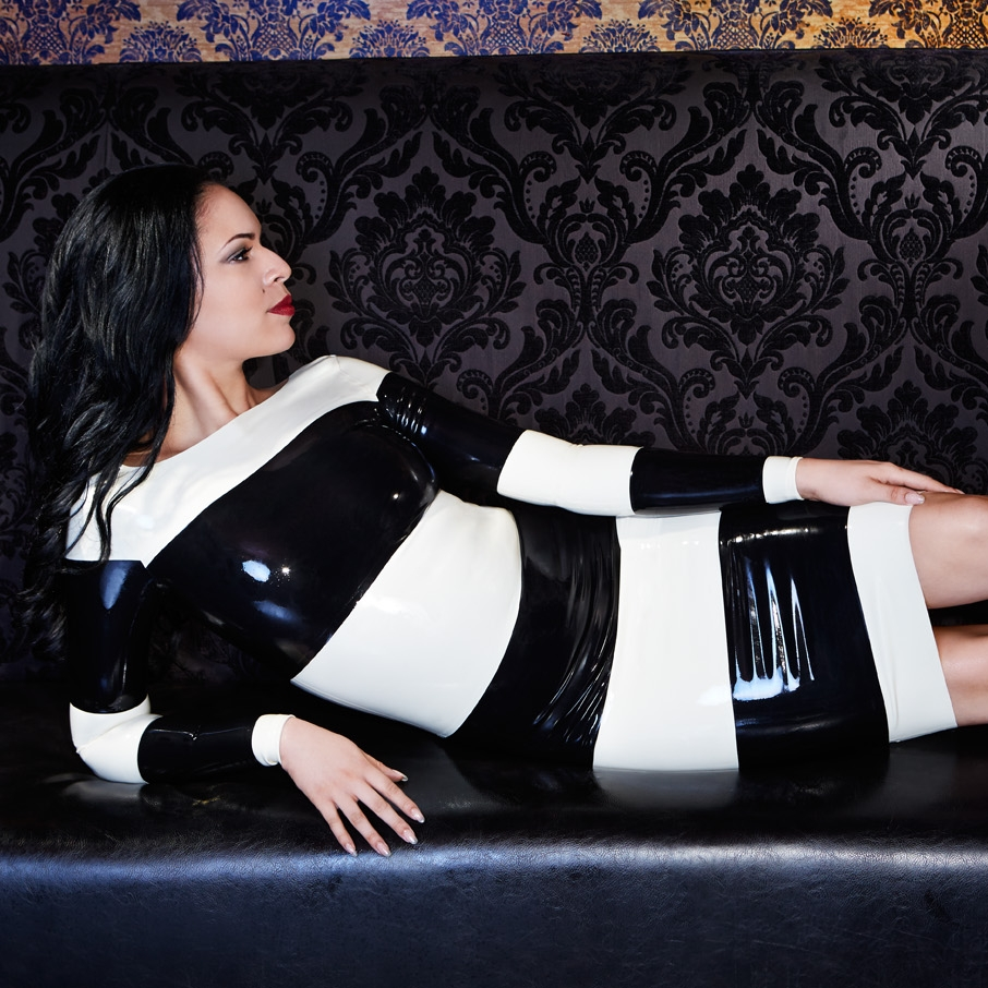 Kirsten Li Designs - Alluring. Distinctive. Bold. Designer Latex Fashion for Downtown Babes. Eco & Vegan Friendly.