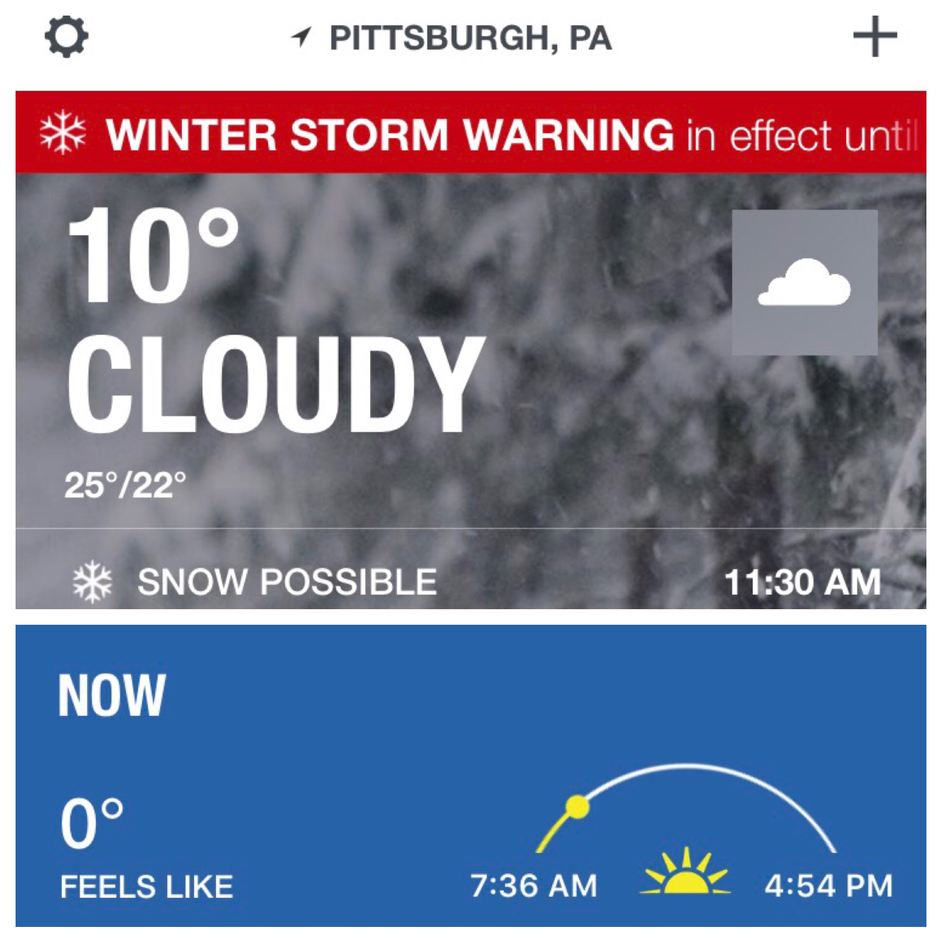 I'd like to file a complaint...this city is too damn cold AND no one seems to know how to forecast it!
