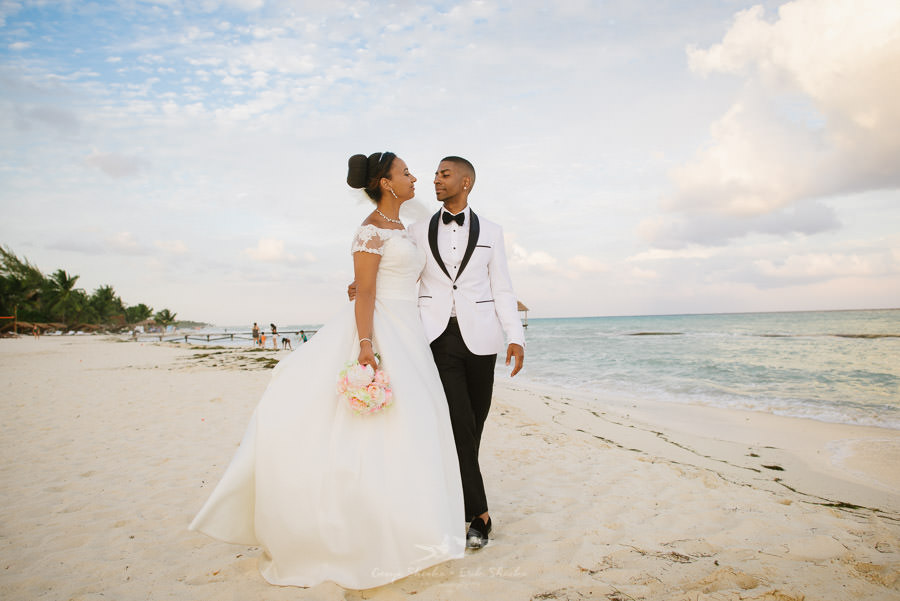 The love and connection between Sarah + Craig during their Mexican Destination Wedding was captured by  Shenko Photography