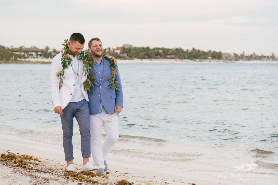 Shenko Photography captured this beautiful wedding and you can check out the full album here:  DESTINATION WEDDING IN AKUMAL | BEN + FRANK