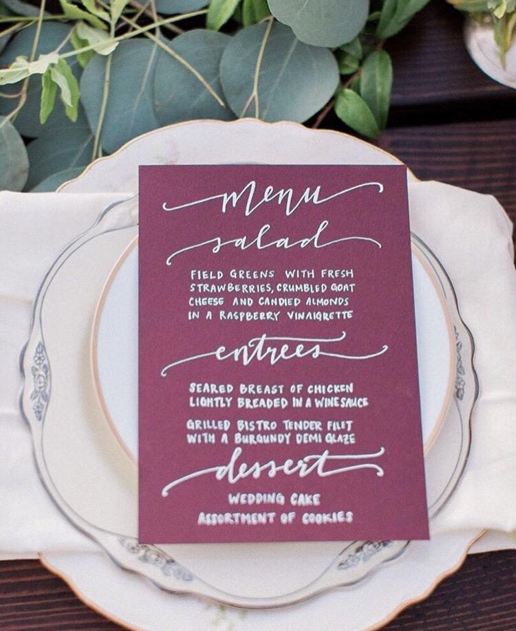 Black Destination Wedding Bride - Journal - Menu.jpg