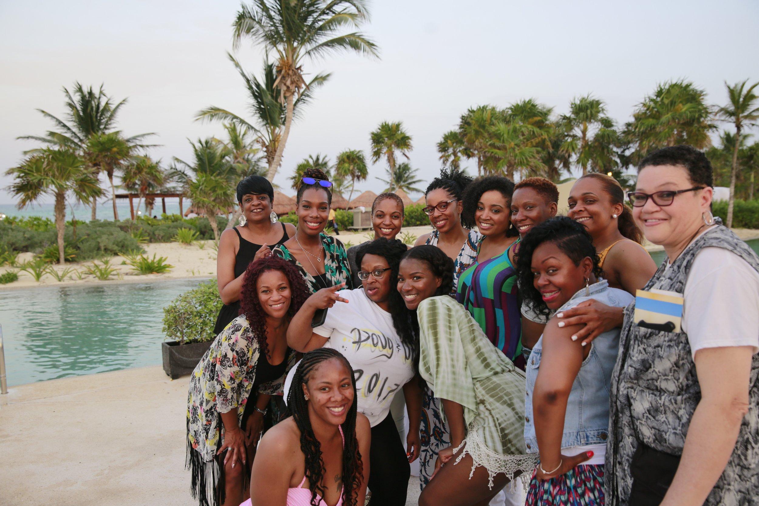 Black Destination Bride - BlackDesti Wedding Countdown Journal - Bridefriends Podcast - 3 Playa del Carmen Mexico - Secrets Maroma Welcome Pool9.jpg