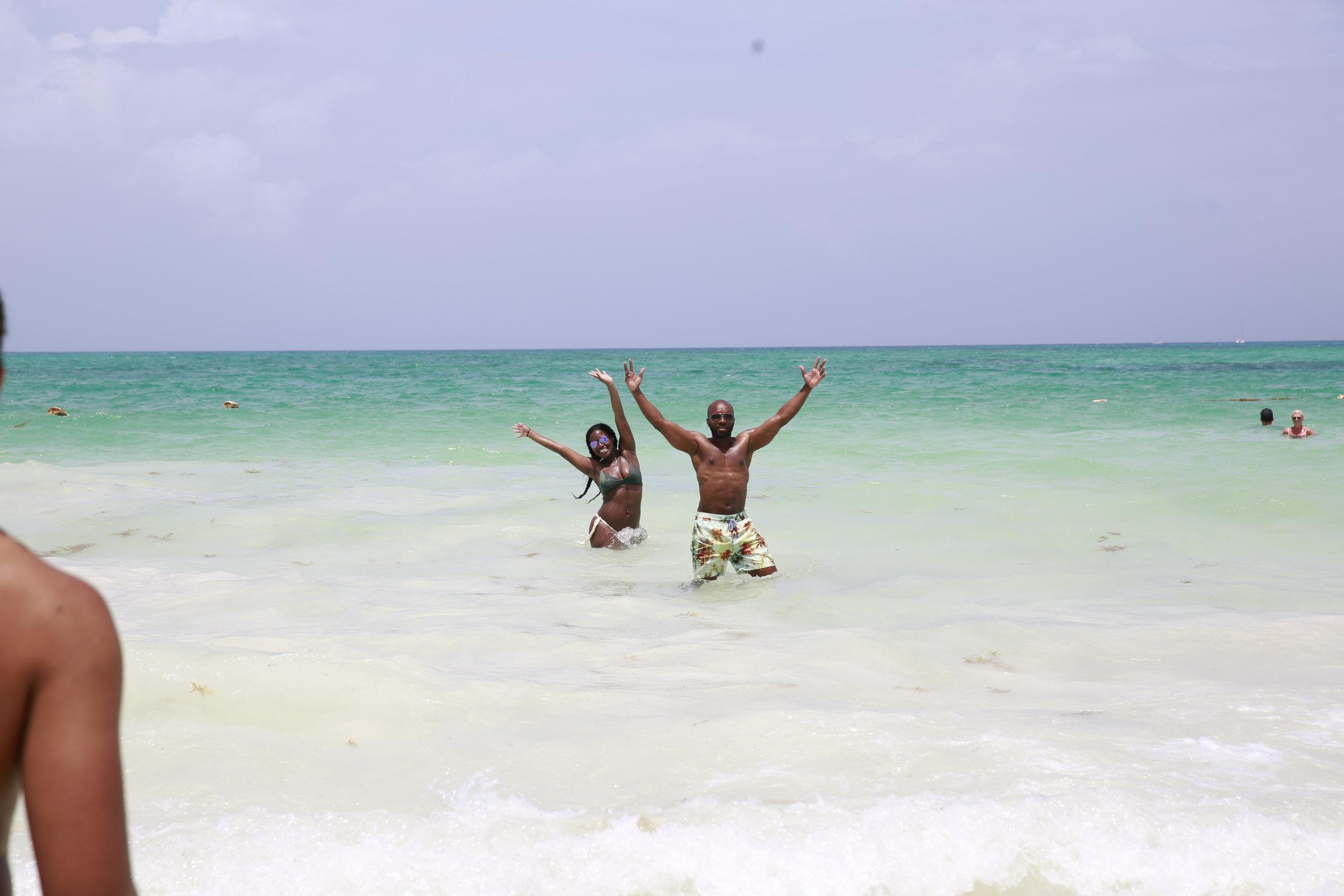 Black Destination Bride - BlackDesti Wedding Countdown Journal - Bridefriends Podcast - 1 Playa del Carmen Mexico - Secrets Maroma beach3.JPG