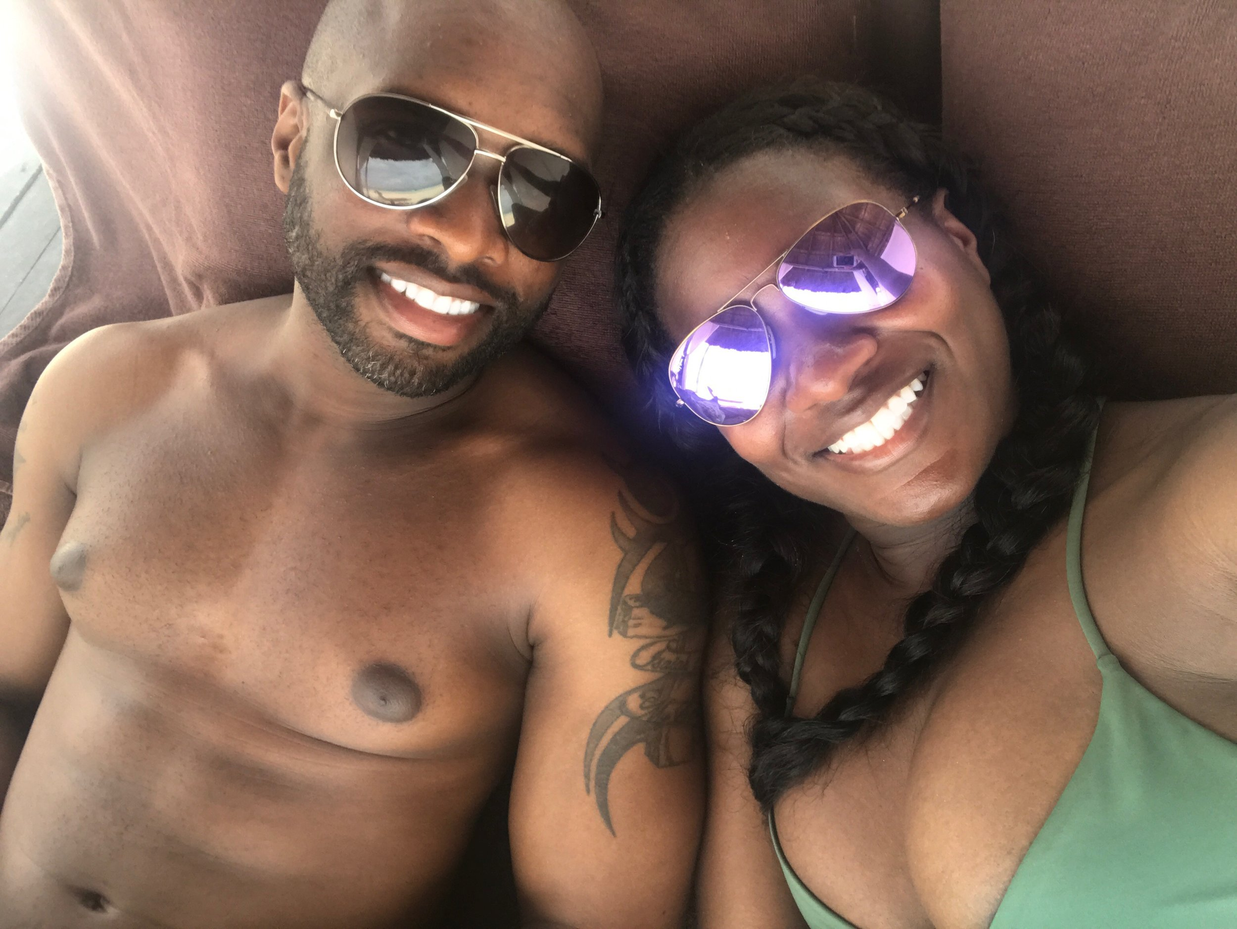 Black Destination Bride - BlackDesti Wedding Countdown Journal - Bridefriends Podcast - 1 Playa del Carmen Mexico - Secrets Maroma beach cabana2.JPG