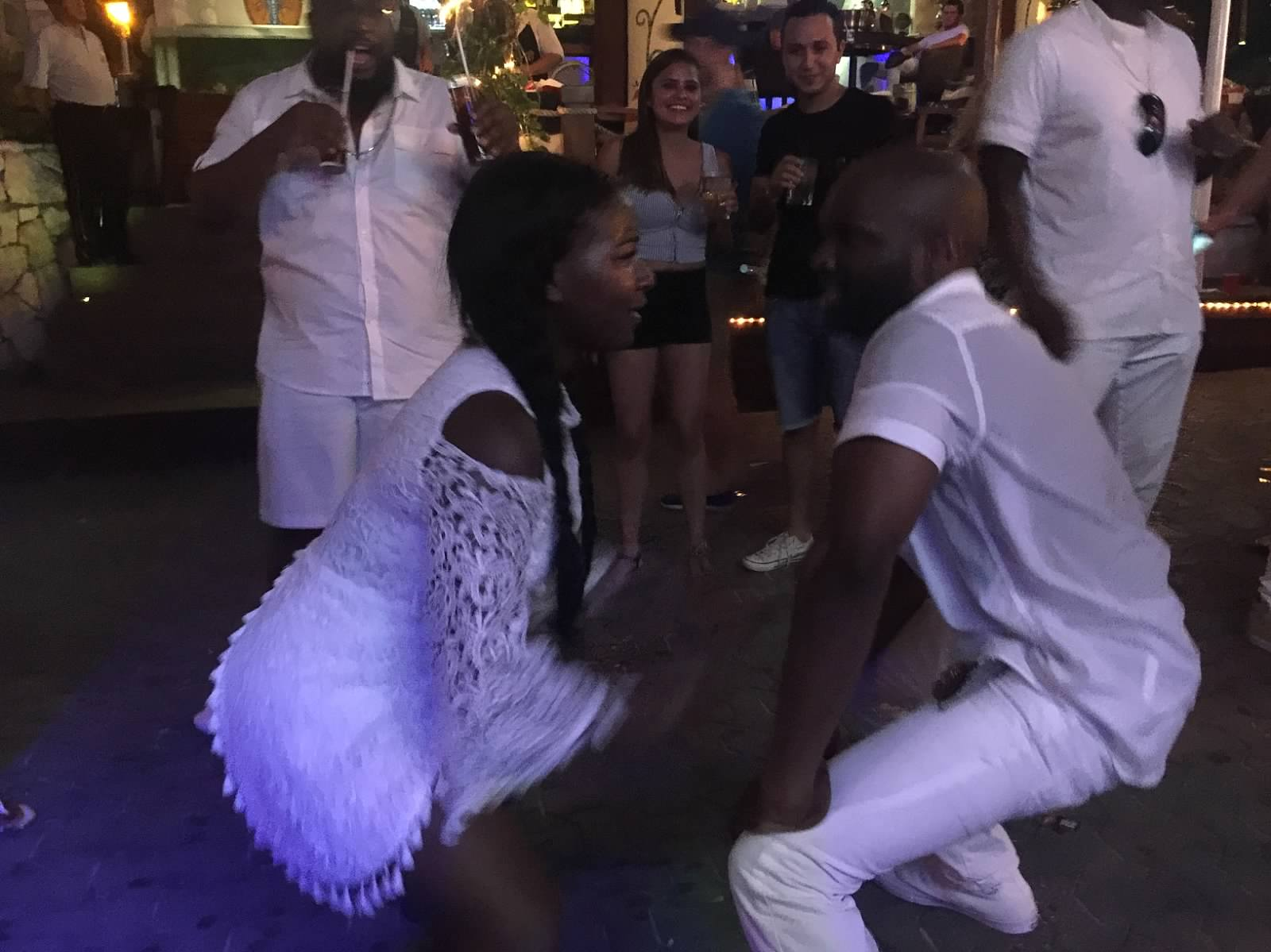 Black Destination Bride - BlackDesti Wedding Countdown Journal - Bridefriends Podcast - 1 Playa del Carmen Mexico - Carboncitos Dancing.jpeg