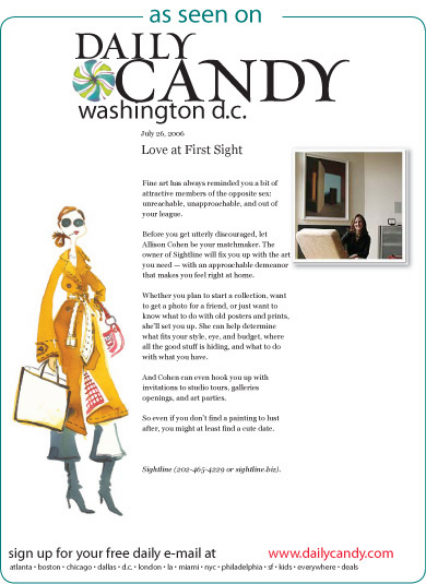 Daily Candy DC <br> July 2006