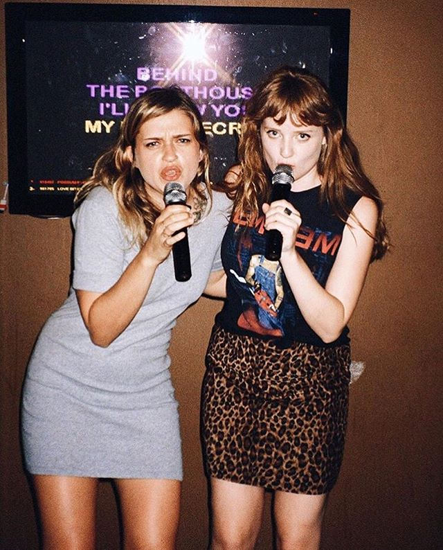 Happy Birthday to my best @maya.tippett ! To the coolest, funniest beauty, you make my heart feel like a sunset in summer. 💕 Forever karaoke duets, not taking shit too seriously, strong hugs and never ending embraces. 💕