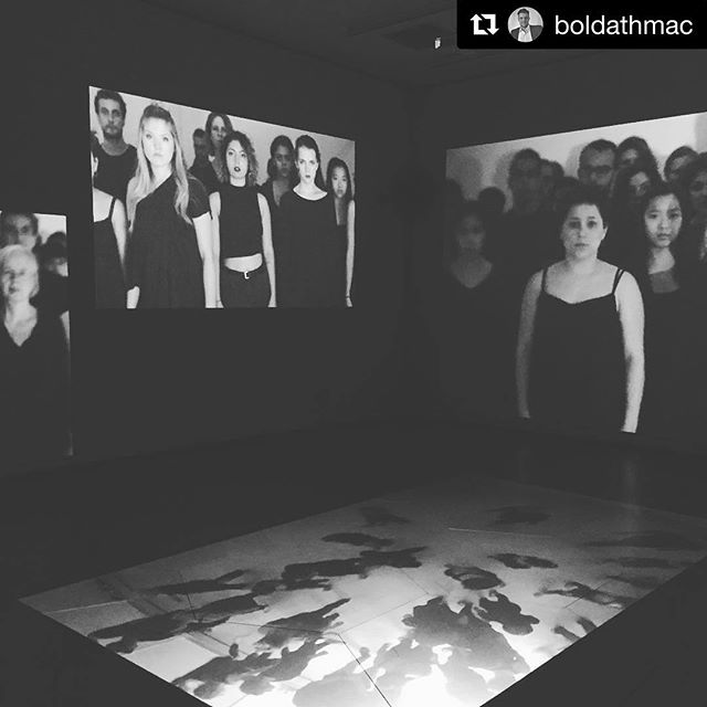 #Repost @boldathmac ・・・ Surreal feeling seeing the video work I did for @embodiedarchitecture on display in NYC ... huge congrats to @lindseydieter and @yuliyasavelyeva for putting on an unforgettable show ... wow 😳