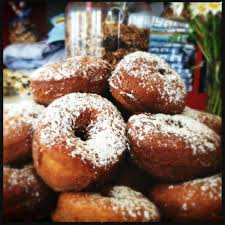 Potato Buttermilk Doughnuts with Strawberry Thyme Balsamic Jam