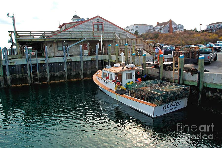 Dan's father's lobster boat the BENJO