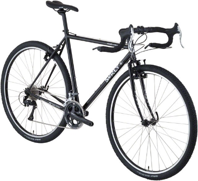SURLY Cross-Check, Black 56cm, A steel road bike frame with off road tires