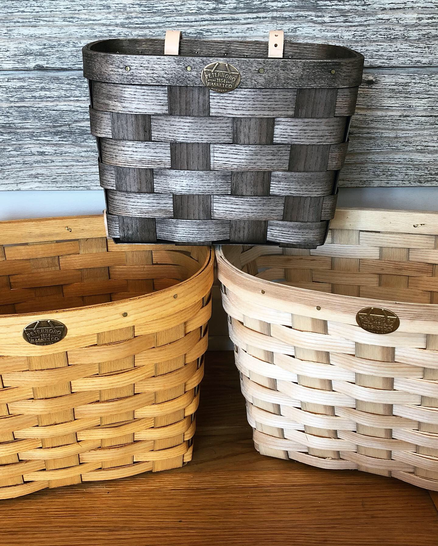 Peterboro Baskets handcrafted in New Hampshire from Appalachian white ash