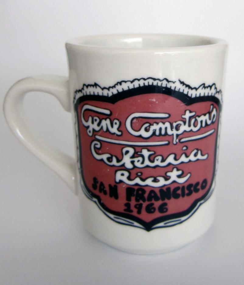 Compton's Cafeteria Riot Commemorative Mugs