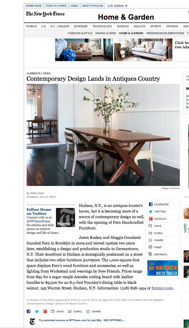 New York Times 6/13