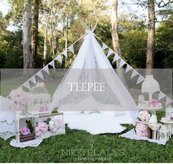 maternity prop, lace teepee