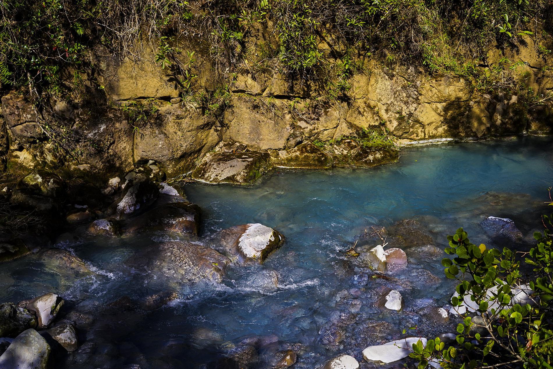 Quebrada azul
