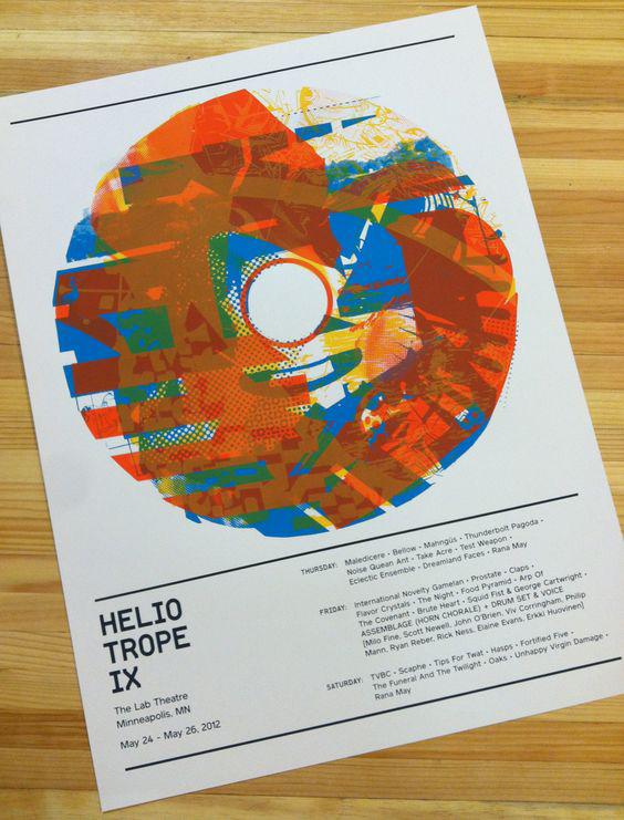 Heliotrope IX Poster