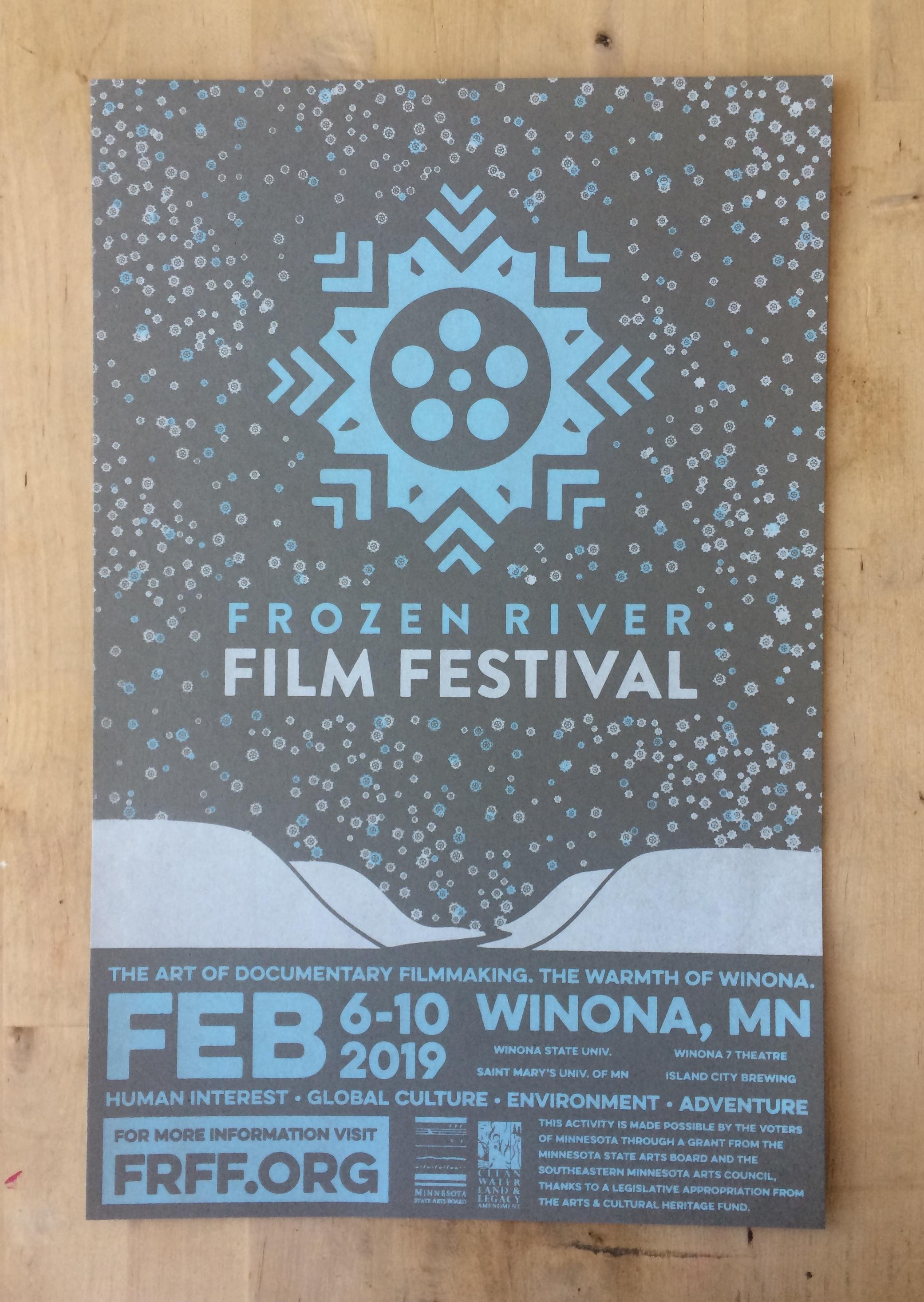 2019 Frozen River Film Festival Poster