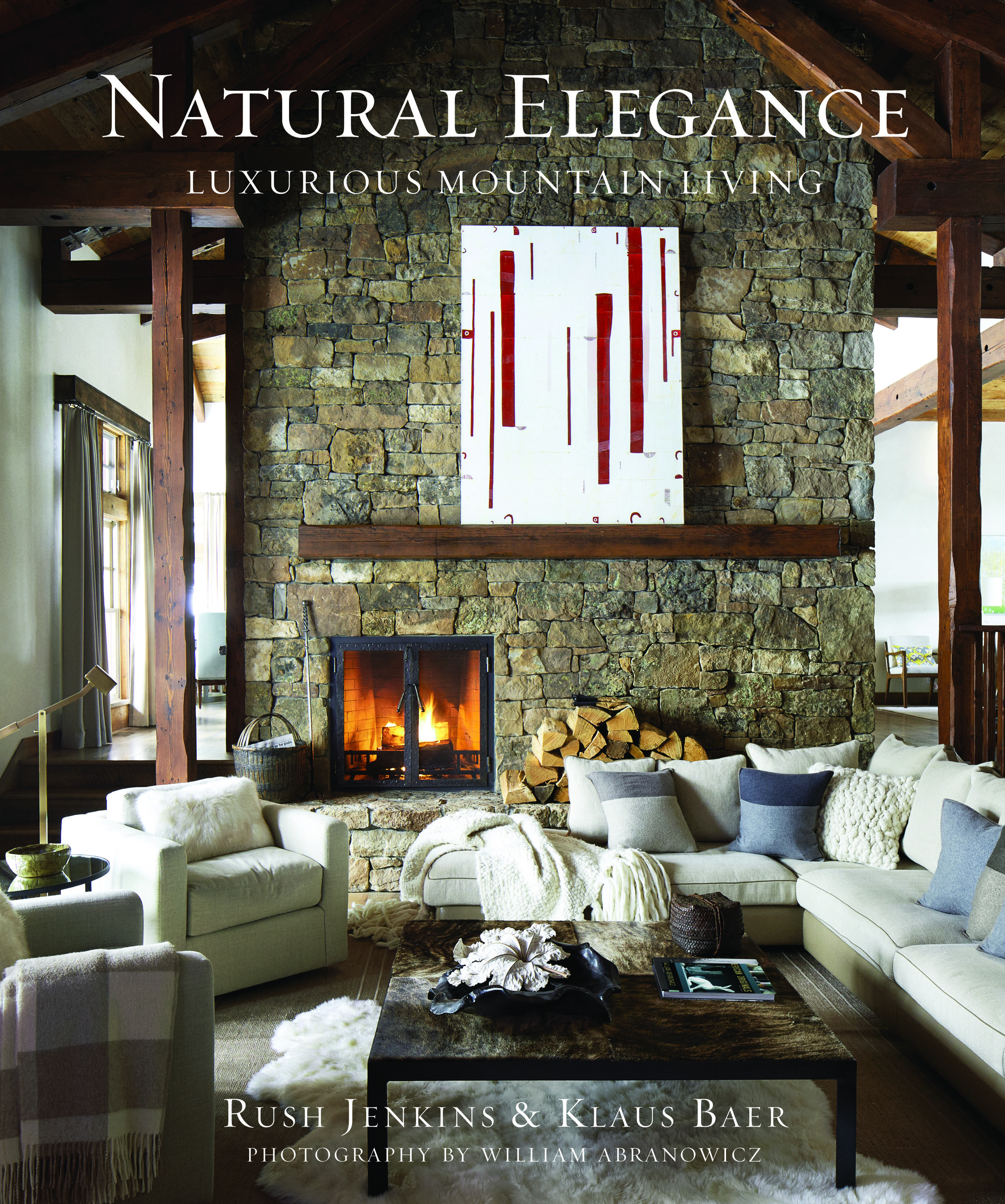 Natural Elegance  showcases the award-winning interiors of WRJ Design, headquartered in Jackson Hole, Wyoming, and led by Rush Jenkins and Klaus Baer. The firm's homes are set against the backdrop of dramatic western landscapes from the Rockies to the Pacific. Their interiors are infused with a unique elegance—one versed in the beauty of the wilderness combined with sophisticated contemporary design. Juxtaposing a warm palette with rugged elements, they create homes that have a deep connection to the natural world just outside the windows. Illustrated with photographs by the masterly William Abranowicz, the book features more than a dozen gloriously sited houses decorated in WRJ's signature rustic yet refined style.