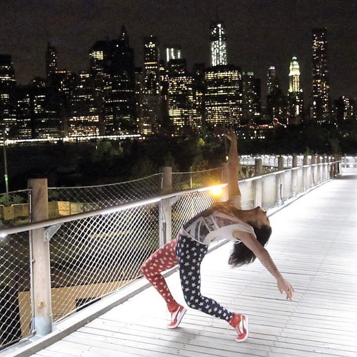Interview with Diina Tamm, who dances through the dots in New York - - Crystal Ra Laksmi