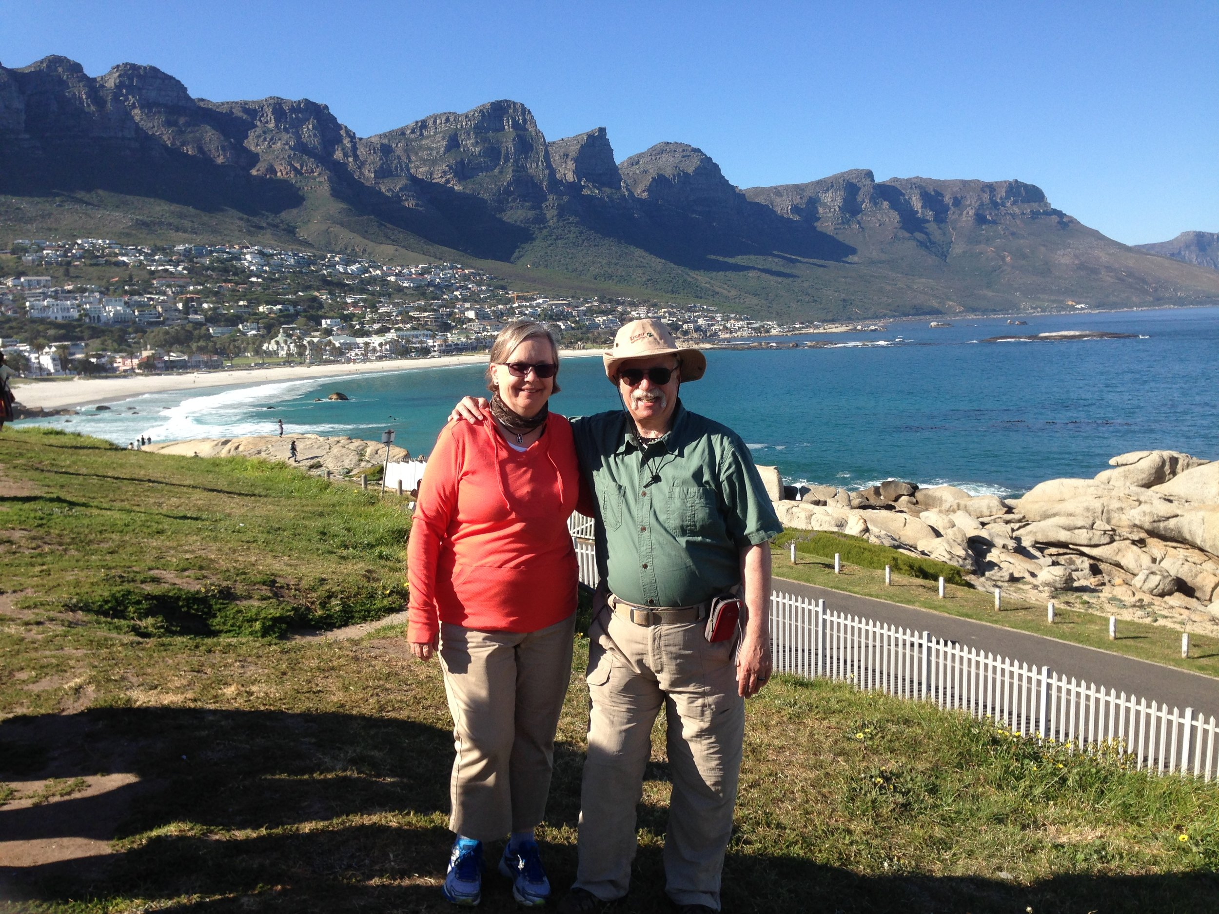 Carolyn and Steve in South Africa