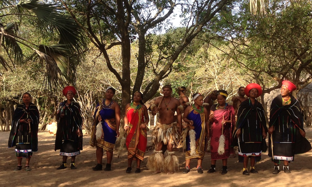 Performance at the Swazi Village, Swaziland