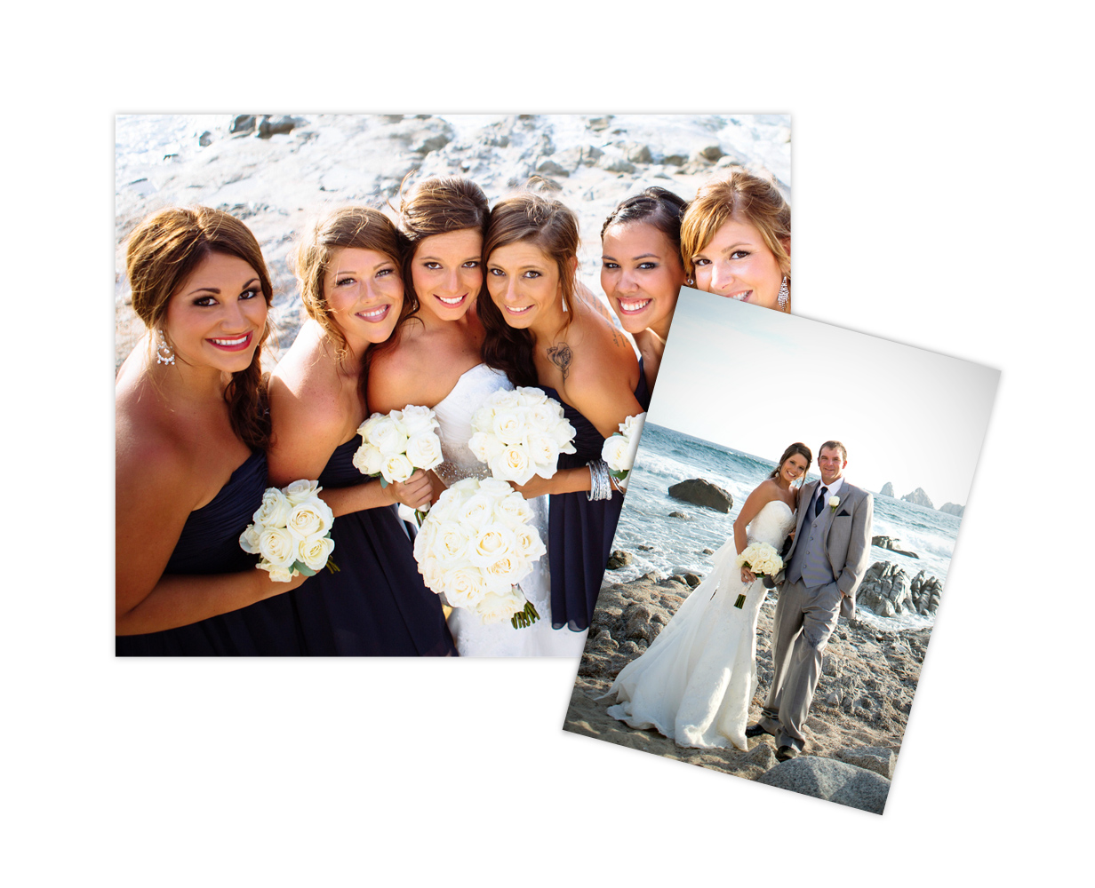 Photographic Prints on Deep Matte Paper - Fuji Crystal Archive Deep Matte paper is the premier matte paper used by professional photographers. Deep matte, lustreless surface creates tremendous visual impact and produces rich color with pure whites and sharp text quality.