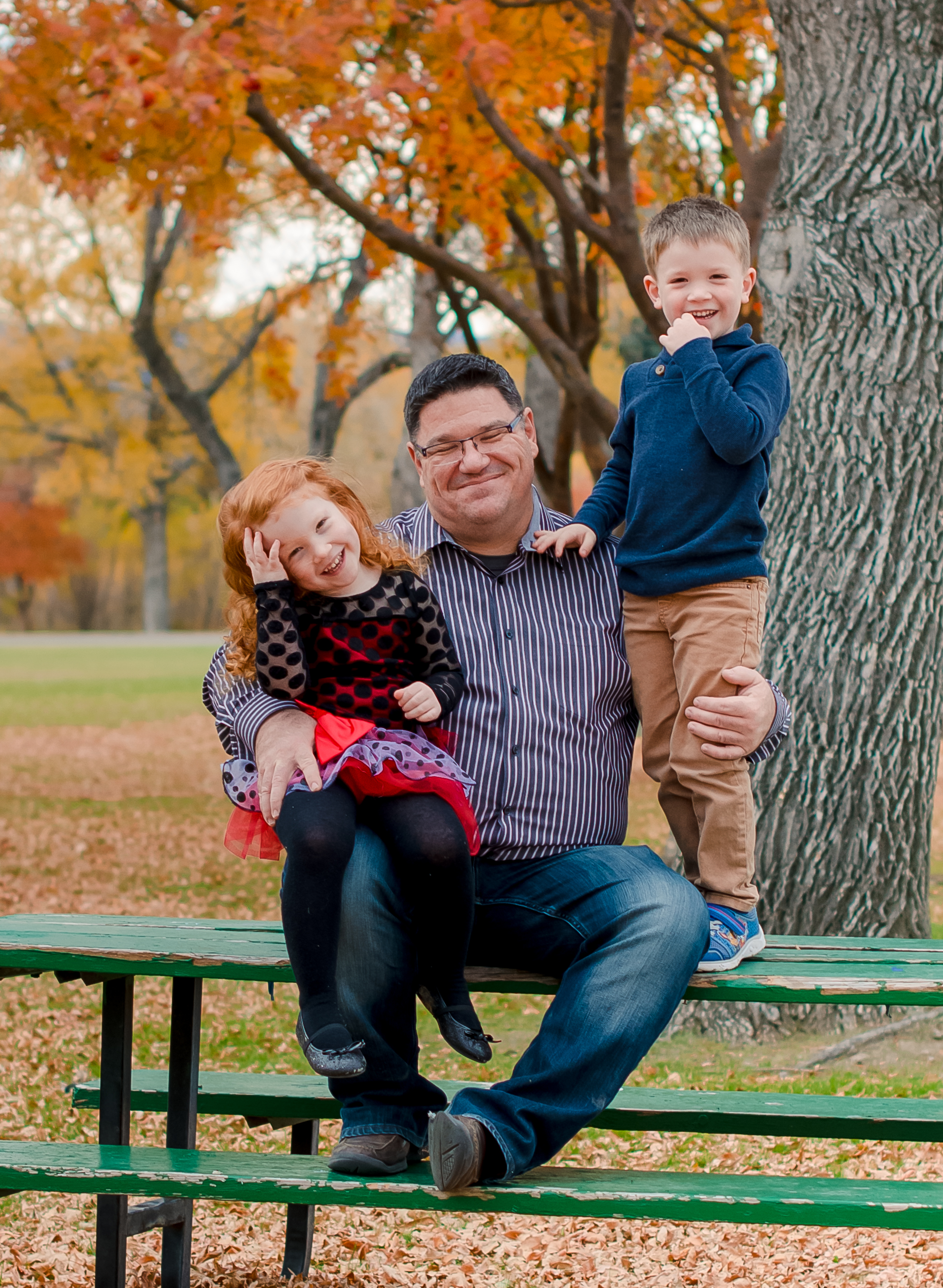 Family portrait photography by  Abigayle Ray Photography LLC  at  Sacajawea Park  in The  City of Livingston, Montana