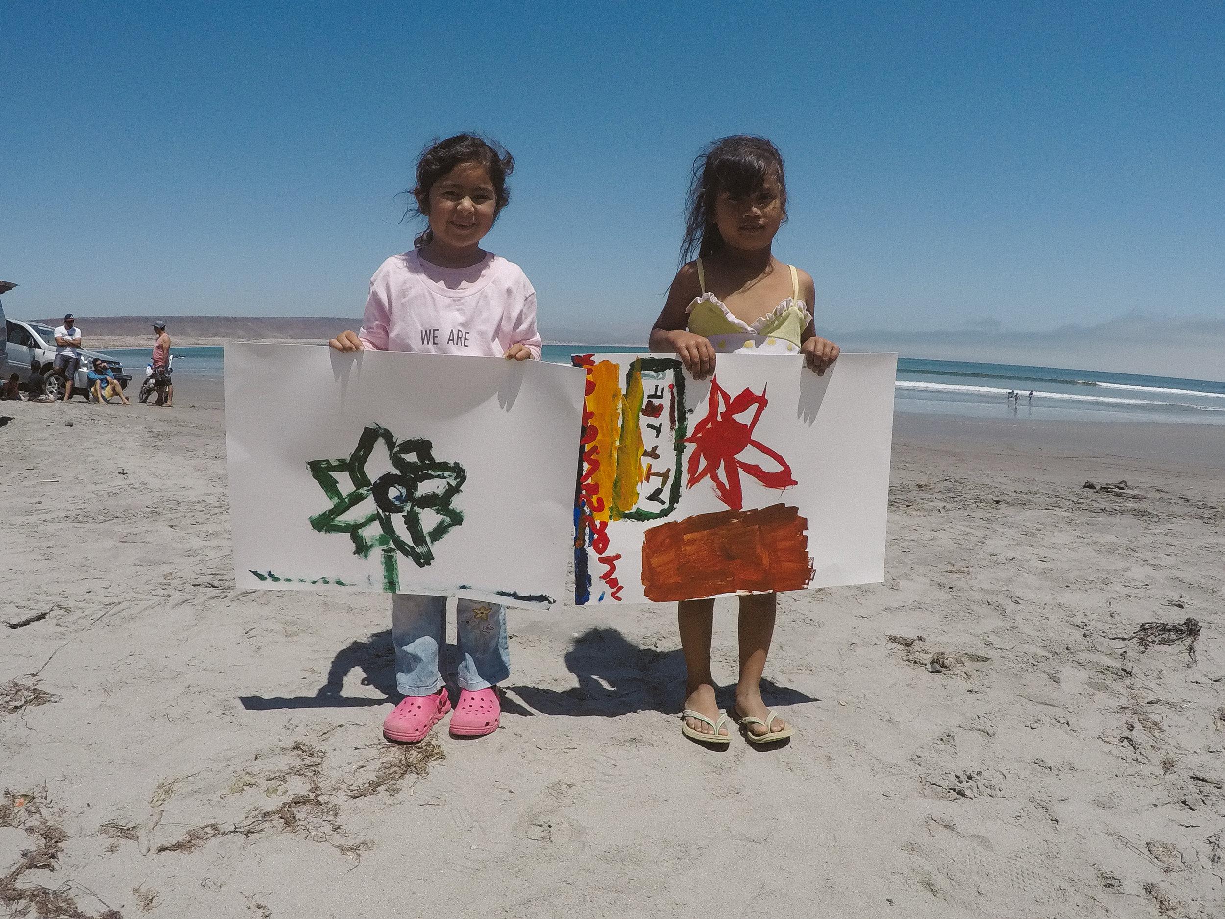 WE ARE Painting Scorpion Bay Retreat